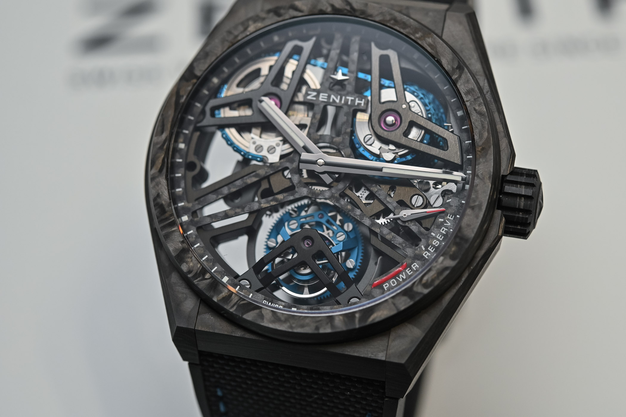Zenith Defy Fusee Tourbillon fusee and chain