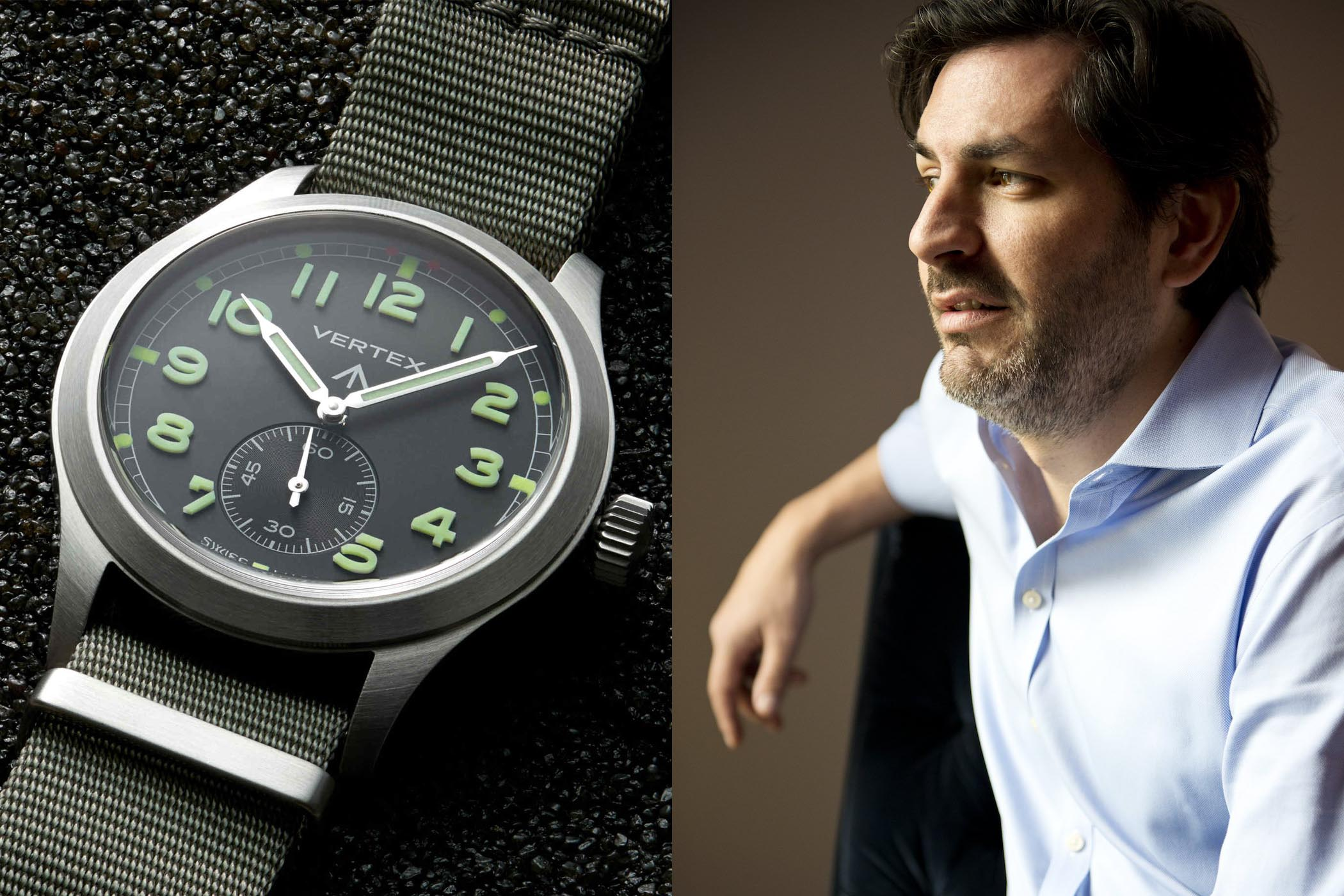 Don Cochrane Founder VERTEX Watches