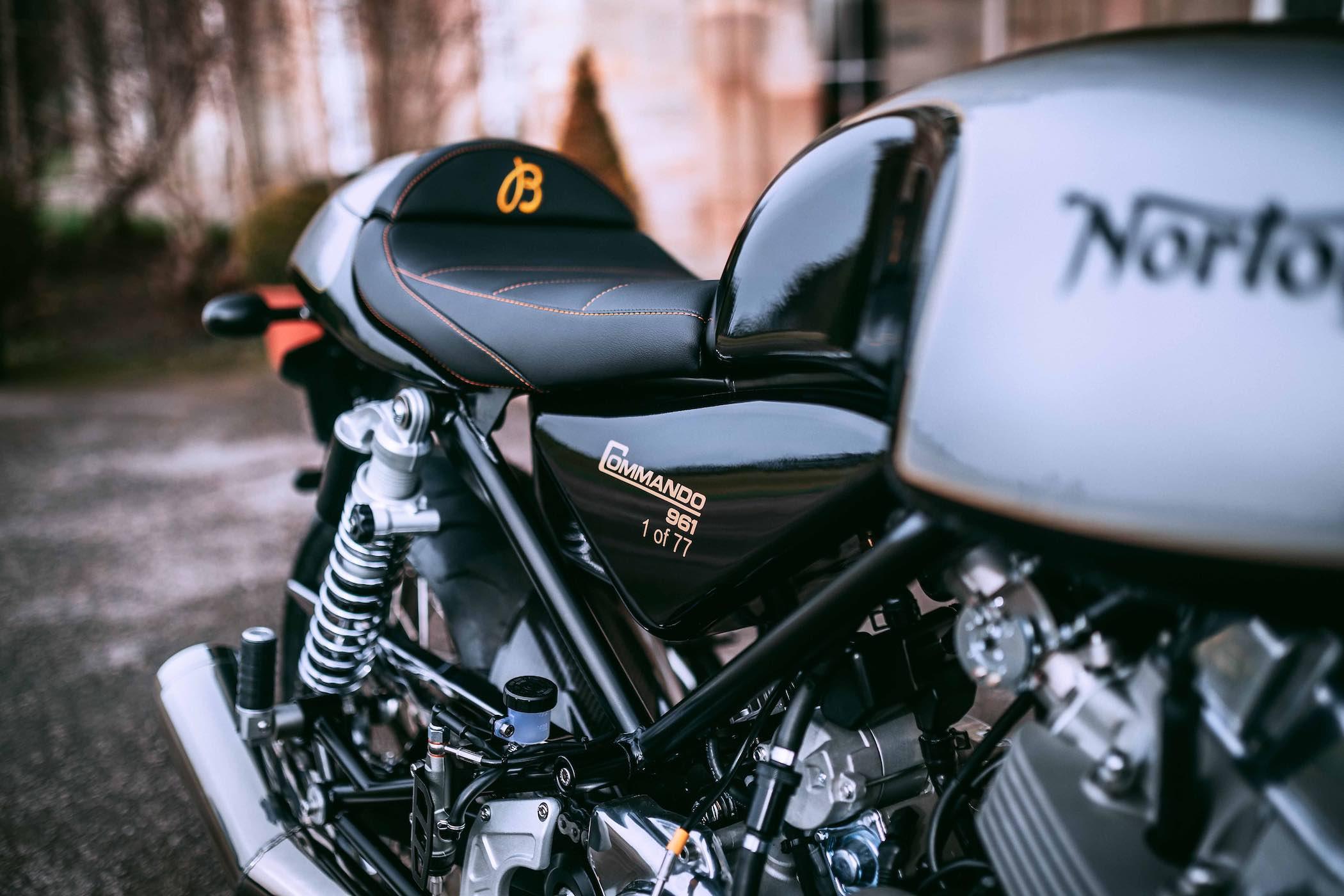 Norton Commando 961 Café Racer MKII Breitling Limited Edition Motorcycle