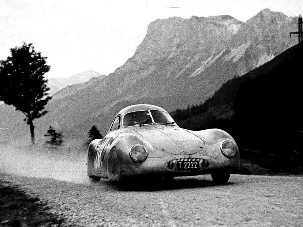 1939 Porsche Type 64 - RM Sothebys Monterey 2019 - credits RM Sothebys - 2