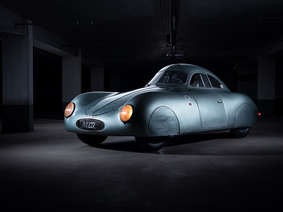 1939 Porsche Type 64 - RM Sothebys Monterey 2019 - credits RM Sothebys - 3
