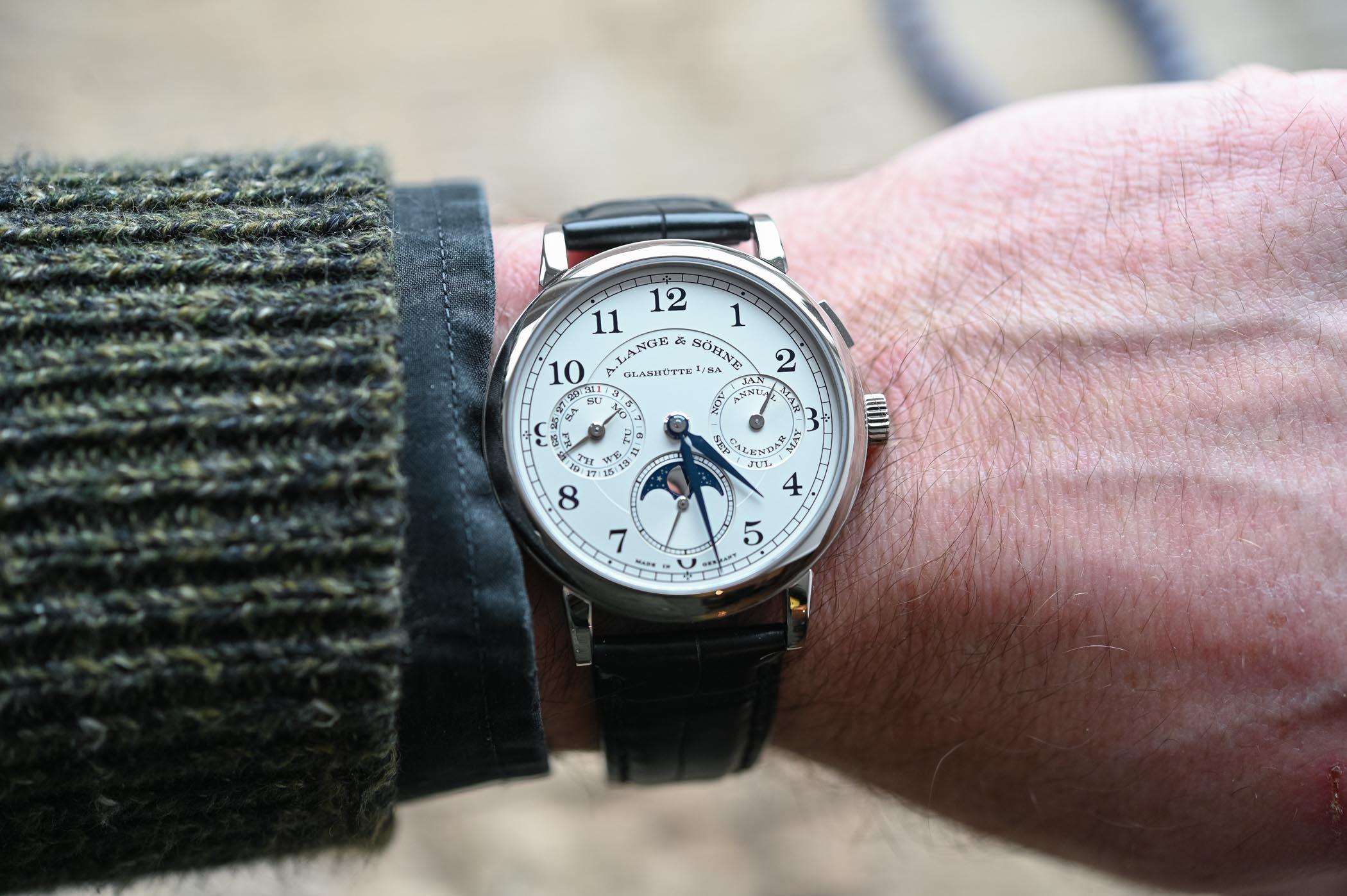 A. Lange & Sohne 1815 Annual Calendar - Battle of High-End Annual Calendar Watches