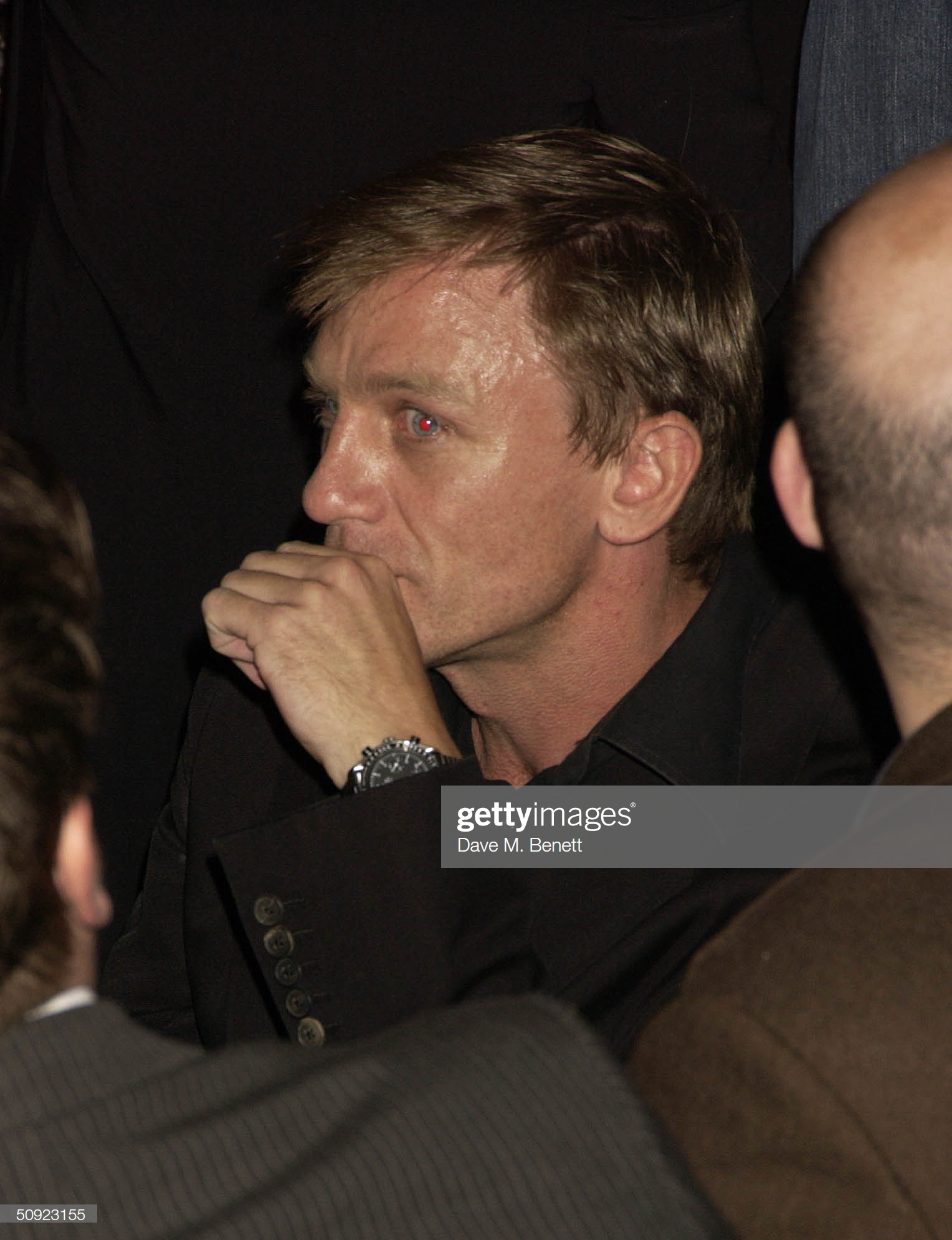 Daniel Craig 2004 spotted Omega Speedmaster