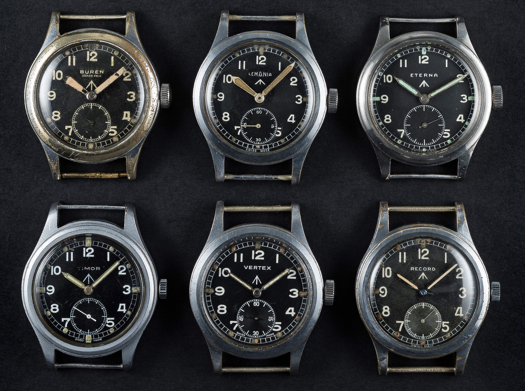 Dirty Dozen military WWII watch