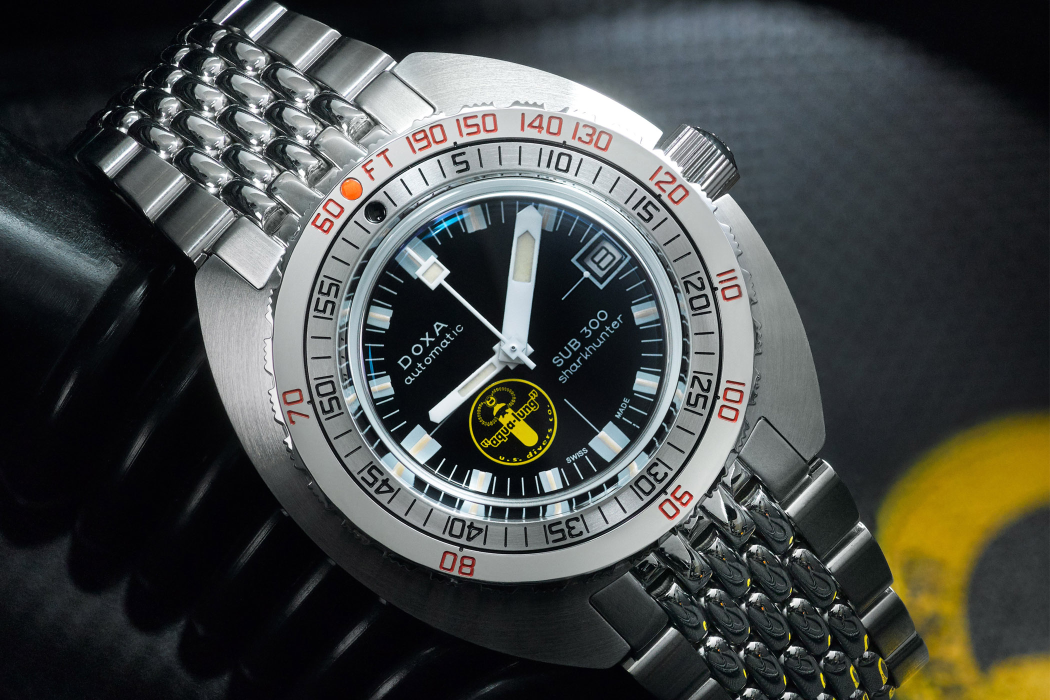 Doxa SUB300 Sharkhunter Black Lung