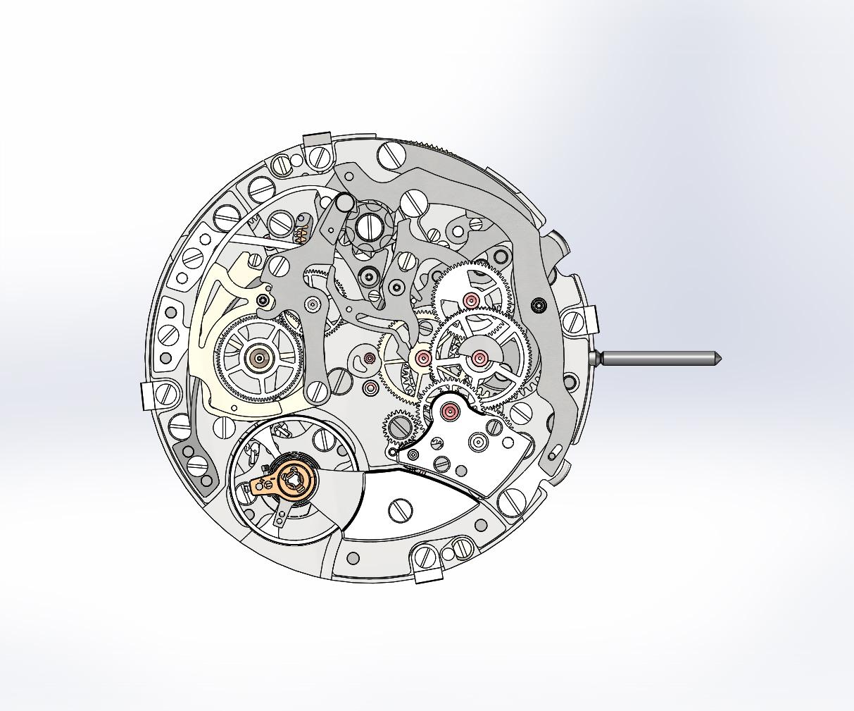 Inside Dubois-Depraz, Module Specialist - new integrated chronograph calibre 540