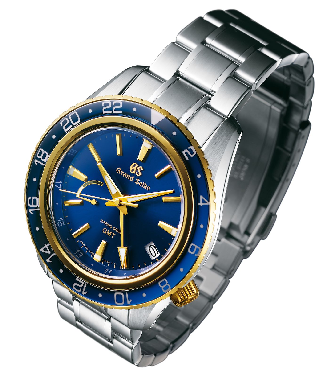 Grand Seiko Spring Drive GMT Sport two-tone SBGE248