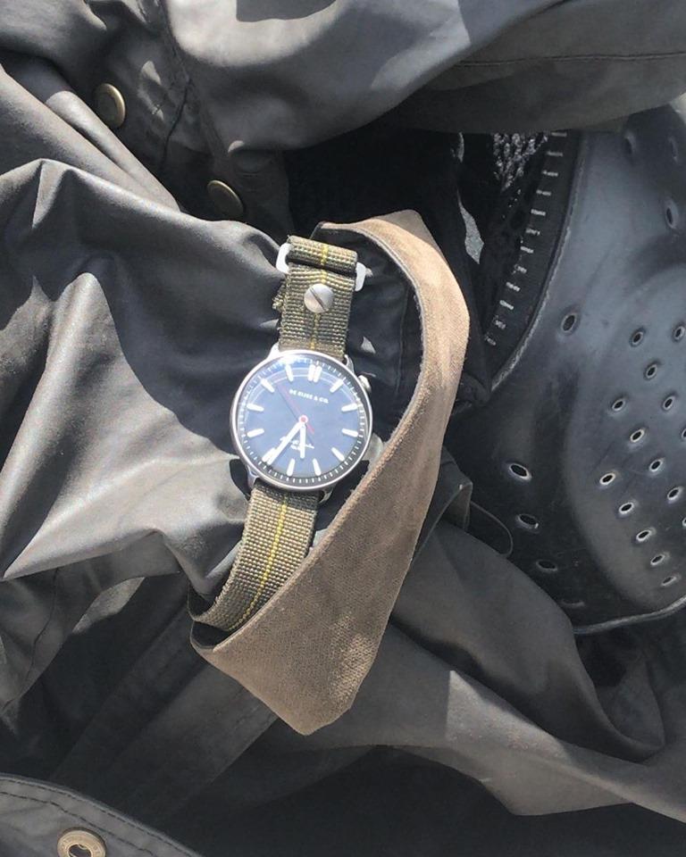 Horloge tijdens reis