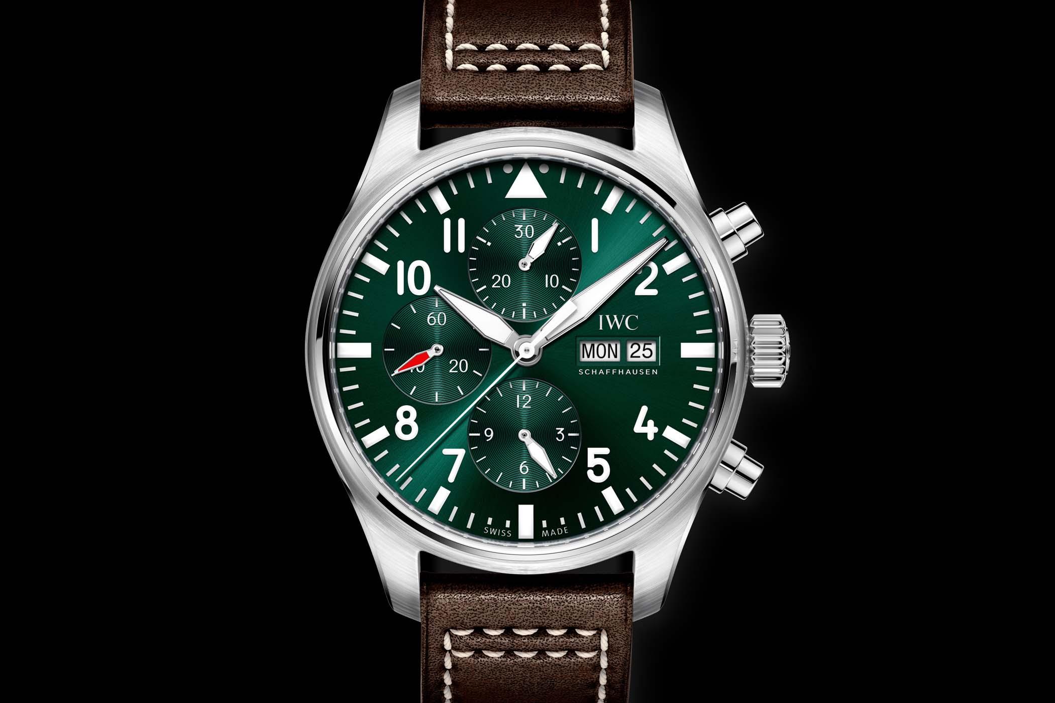 IWC Pilot's Watch Chronograph Edition Racing Green IW377726
