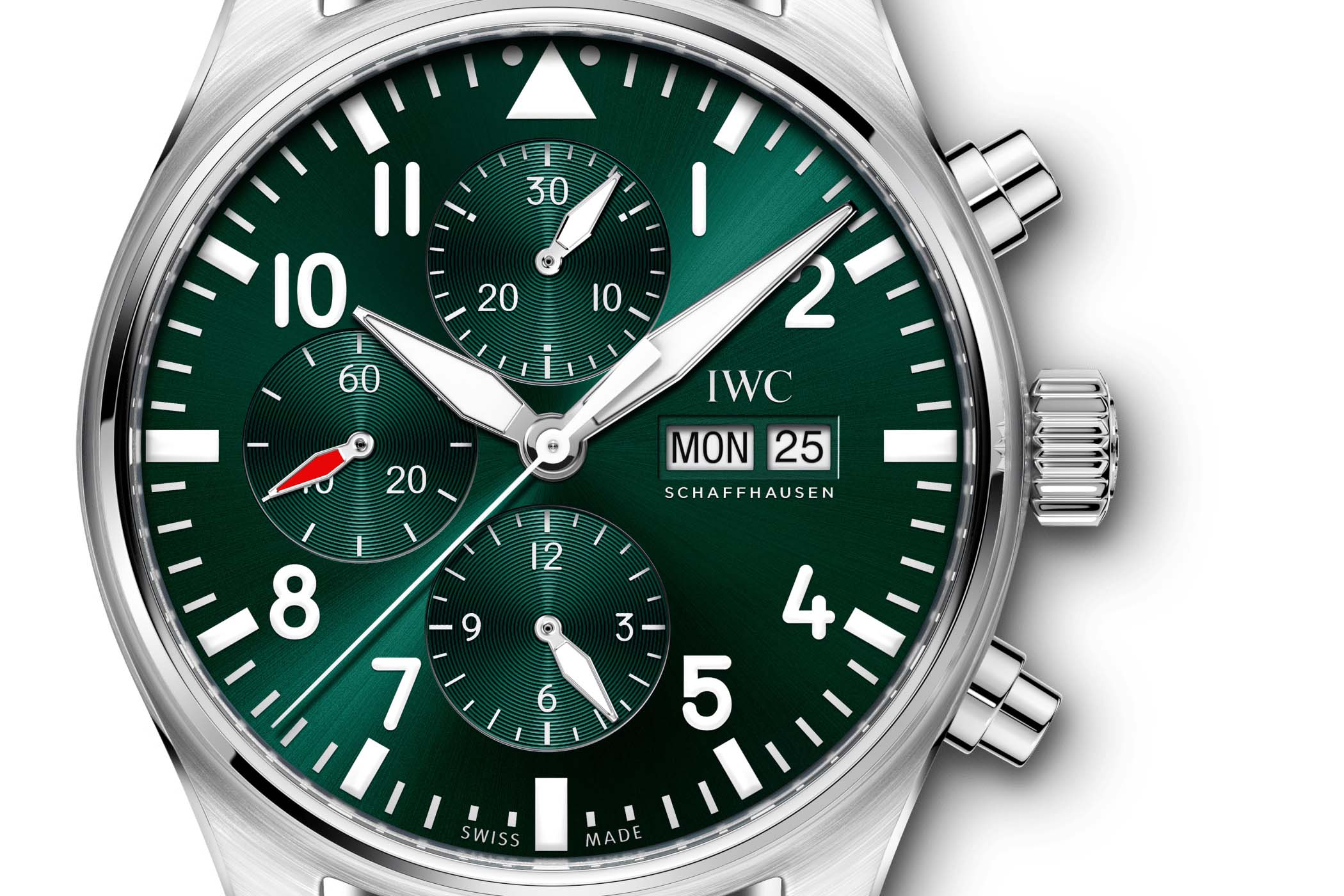 IWC Pilot's Watch Chronograph Edition Racing Green IW377726