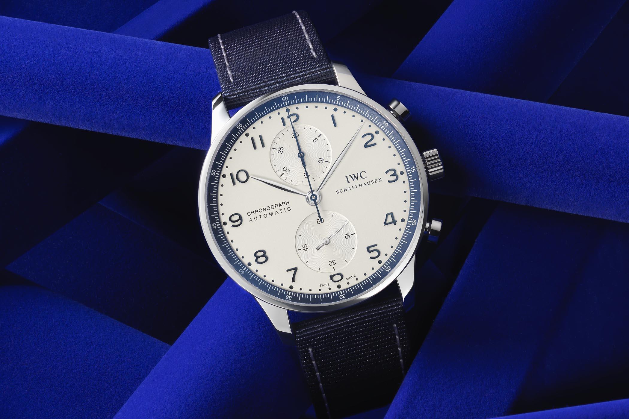 IWC Portugieser Chronograph Bucherer Blue Editions IW371492