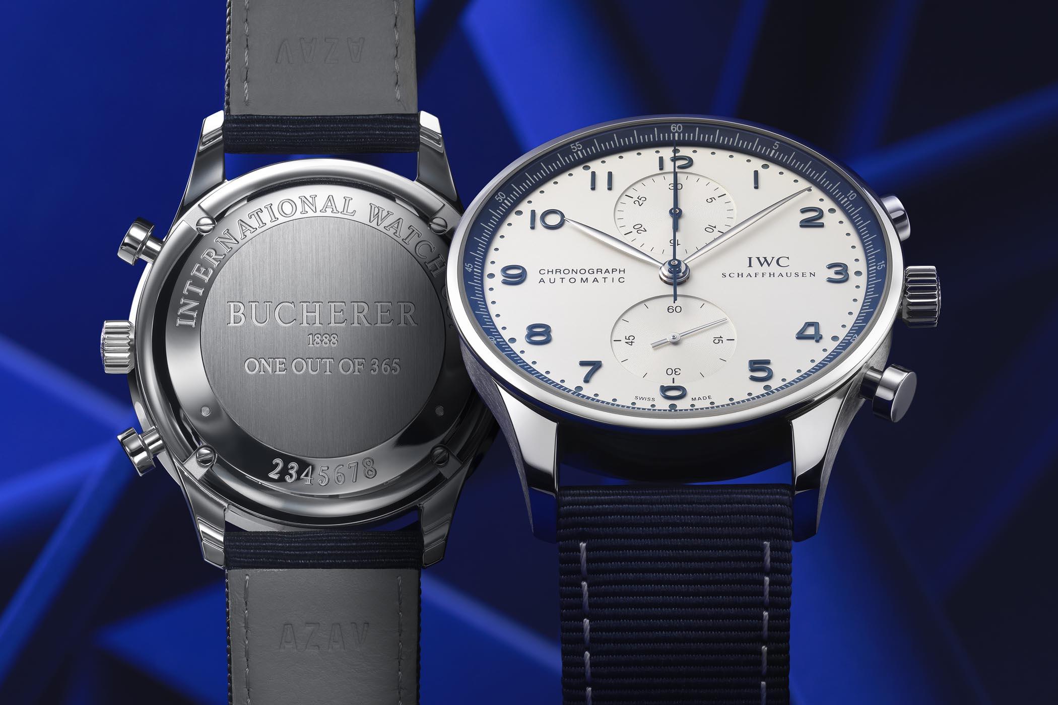 IWC Schaffhausen Portugieser Chronograph Bucherer BLUE IW371492