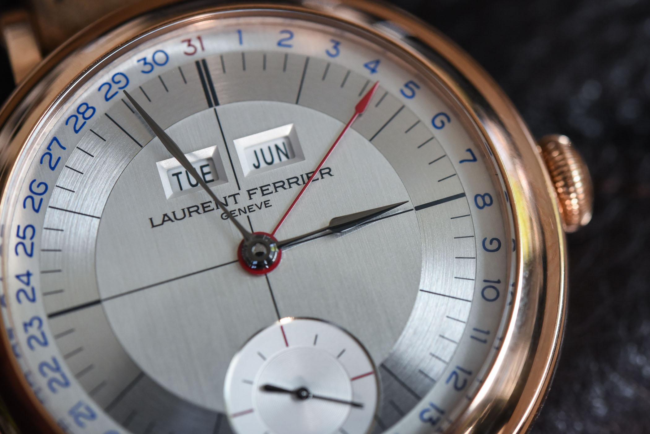 Laurent Ferrier Annual Calendar School Piece - Battle of High-End Annual Calendar Watches