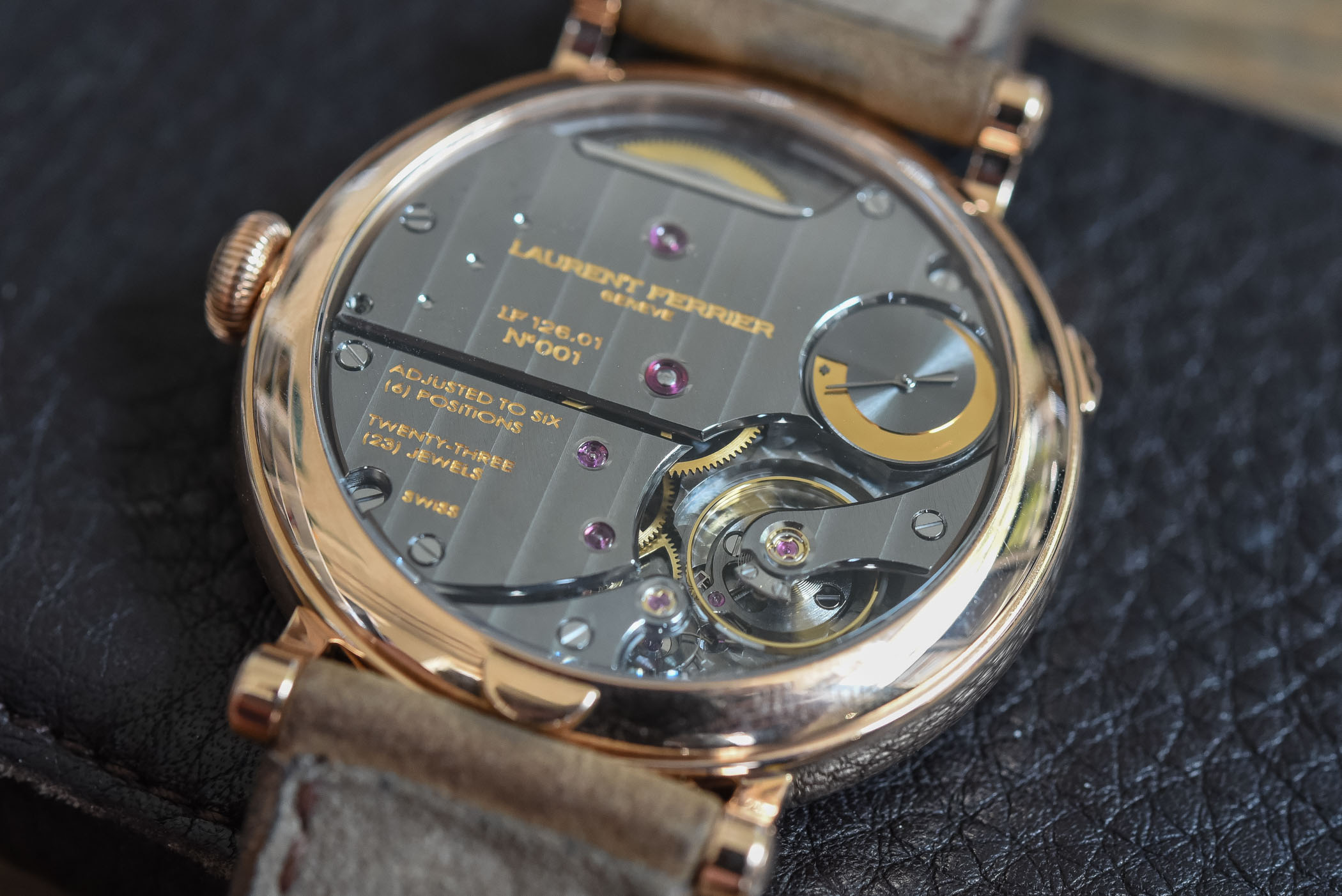 Laurent Ferrier Annual Calendar School Piece - Battle of High-End Annual Calendar Watches