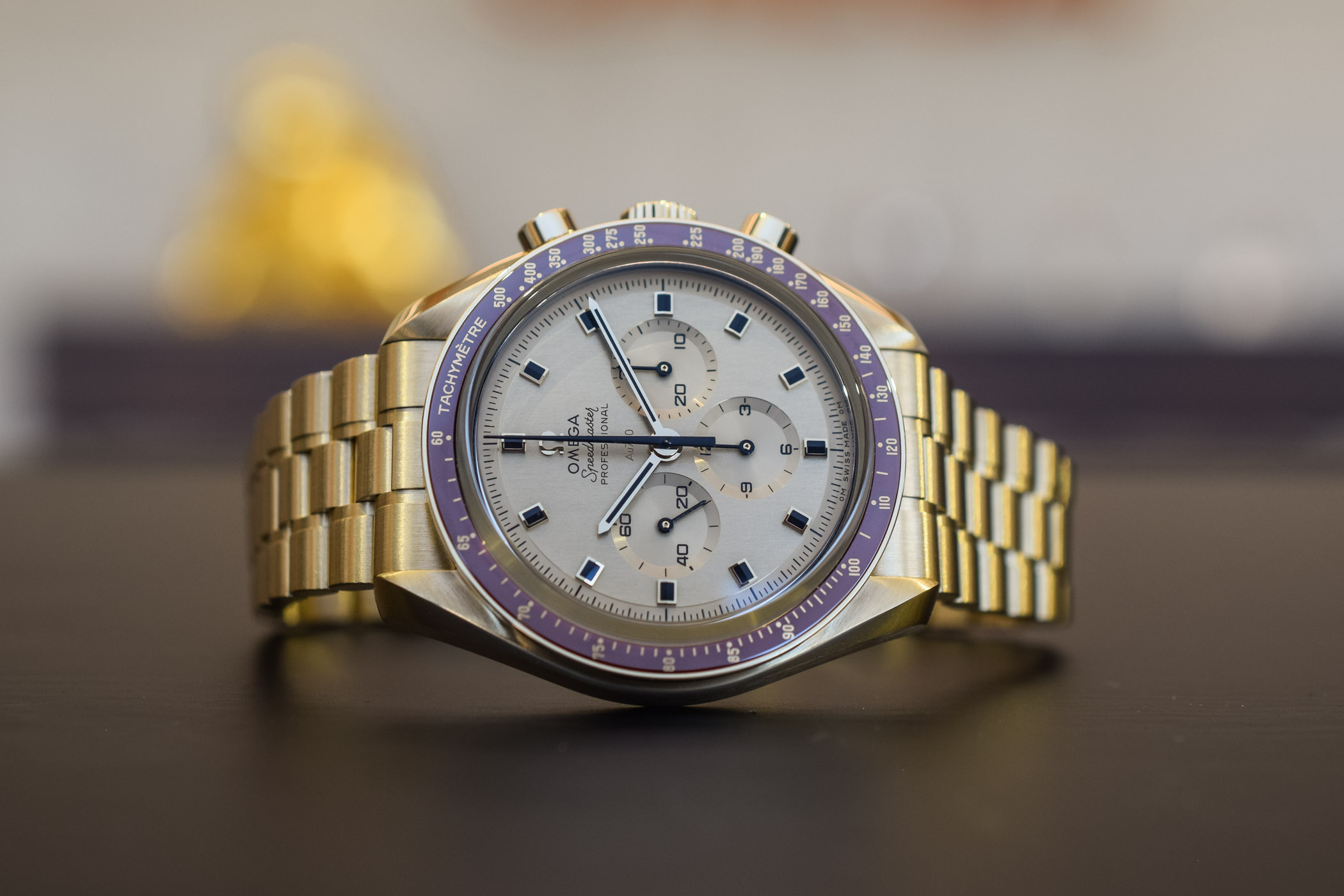Omega Speedmaster Apollo 11 50th Anniversary Moonshine Gold Limited Edition - 2