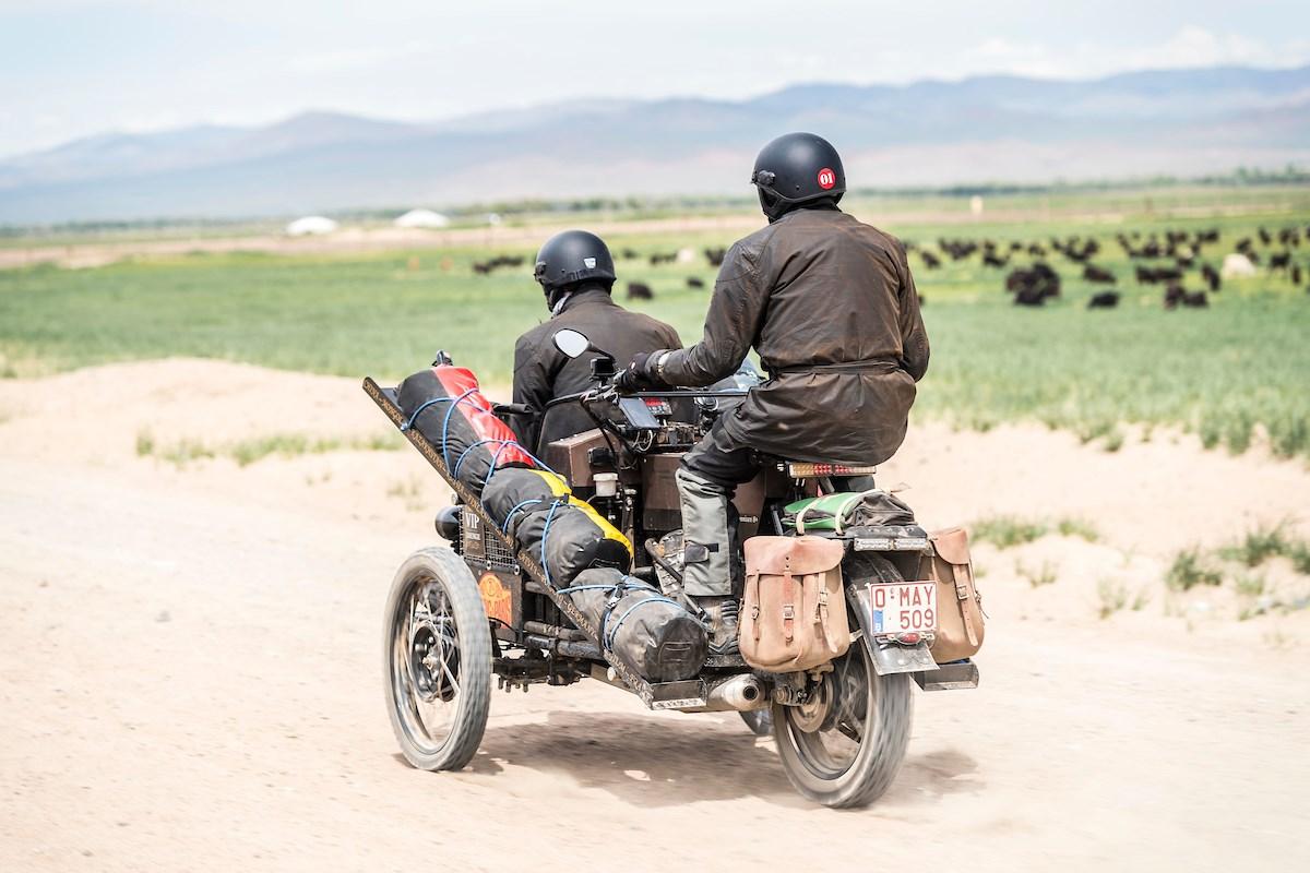 Onderweg in Mongolie