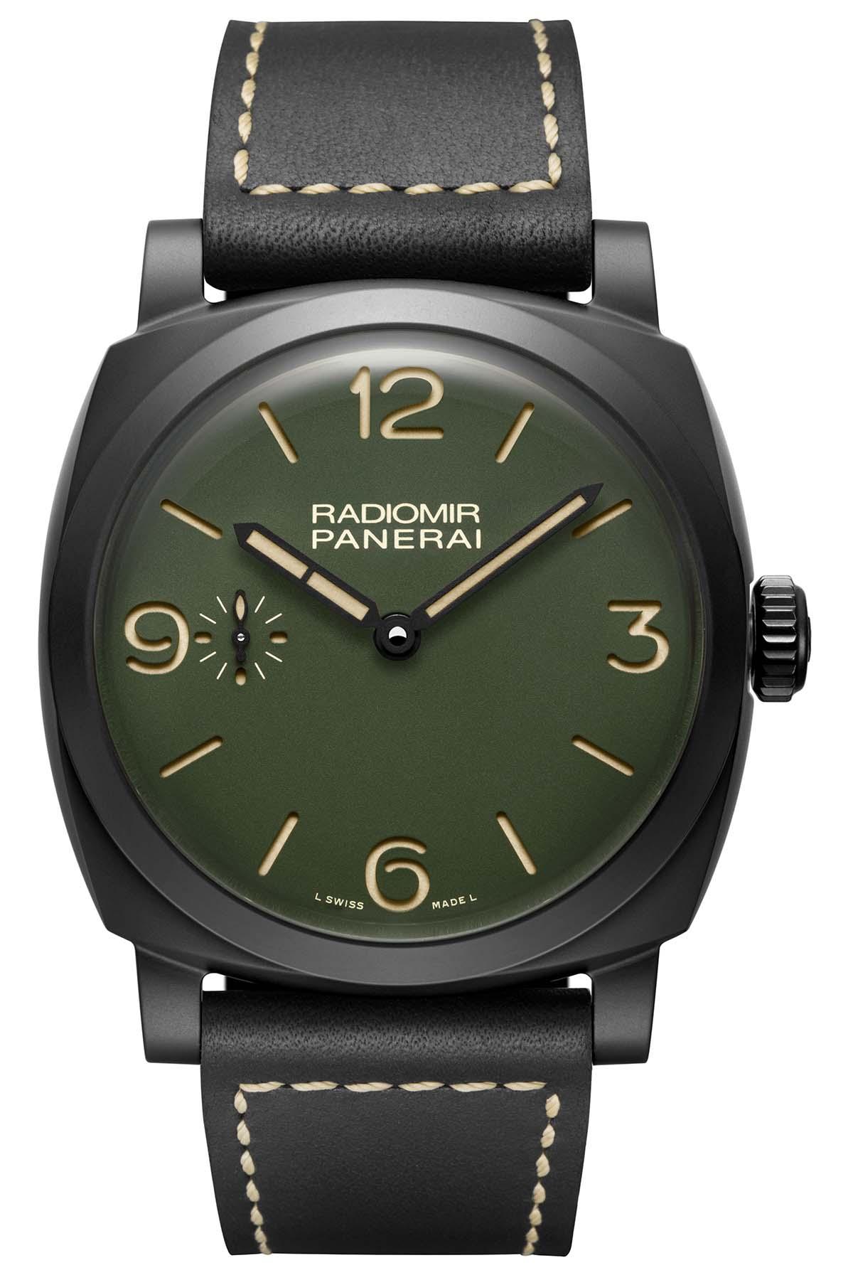 Panerai Radiomir 1940 48mm ceramic military green PAM00997