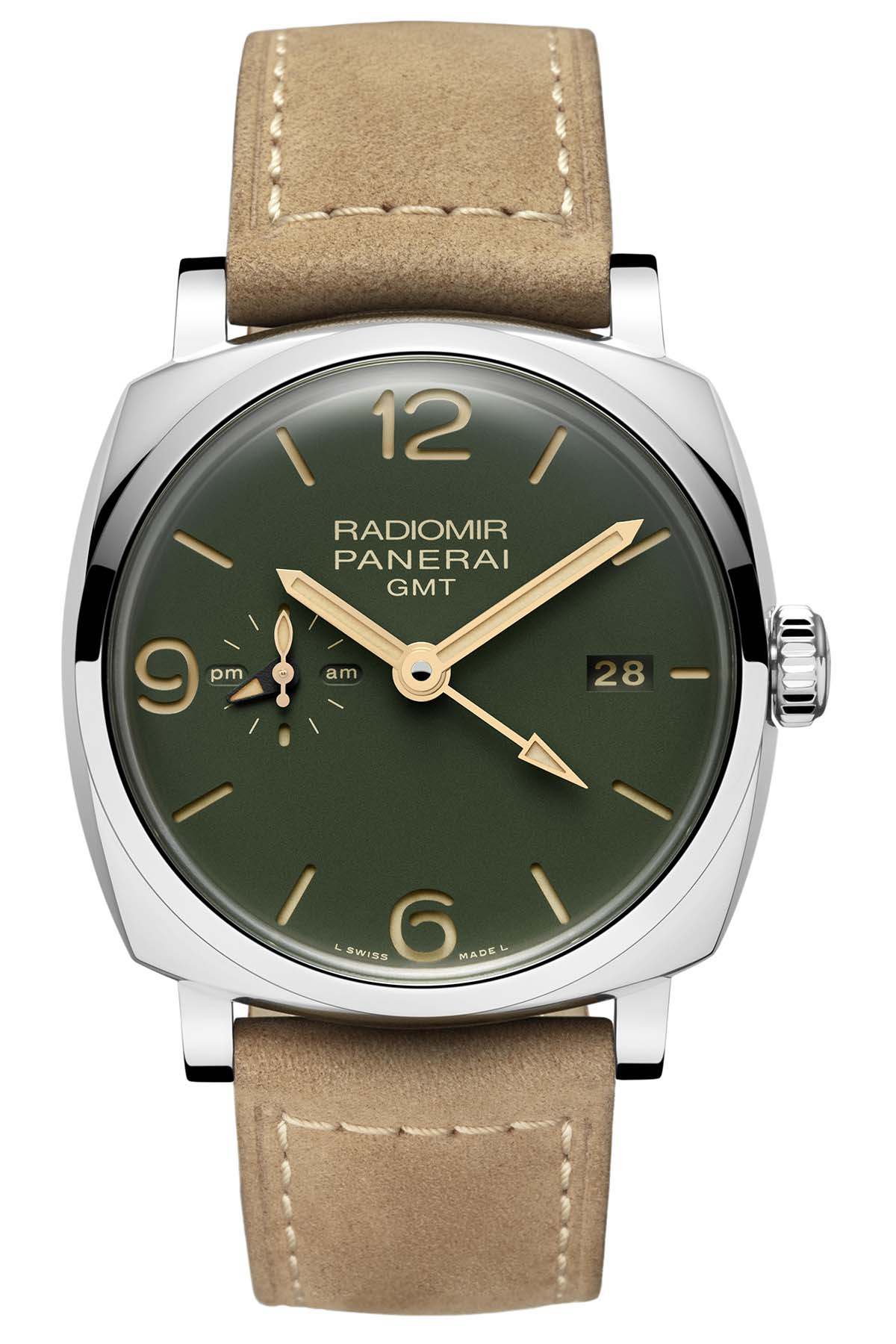 Panerai Radiomir 1940 GMT 45mm military green PAM00998