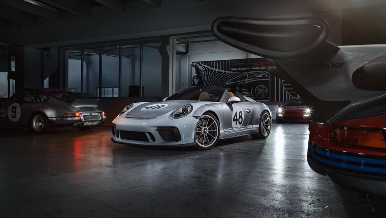 Porsche 911 Speedster 991 - 3
