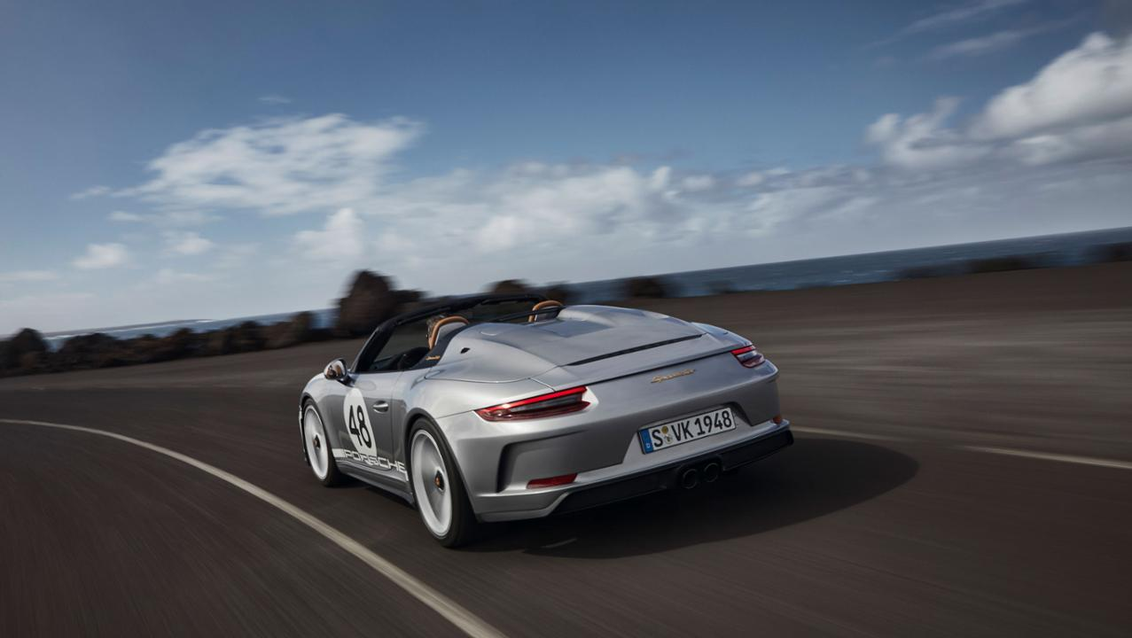 Porsche 911 Speedster-Verde