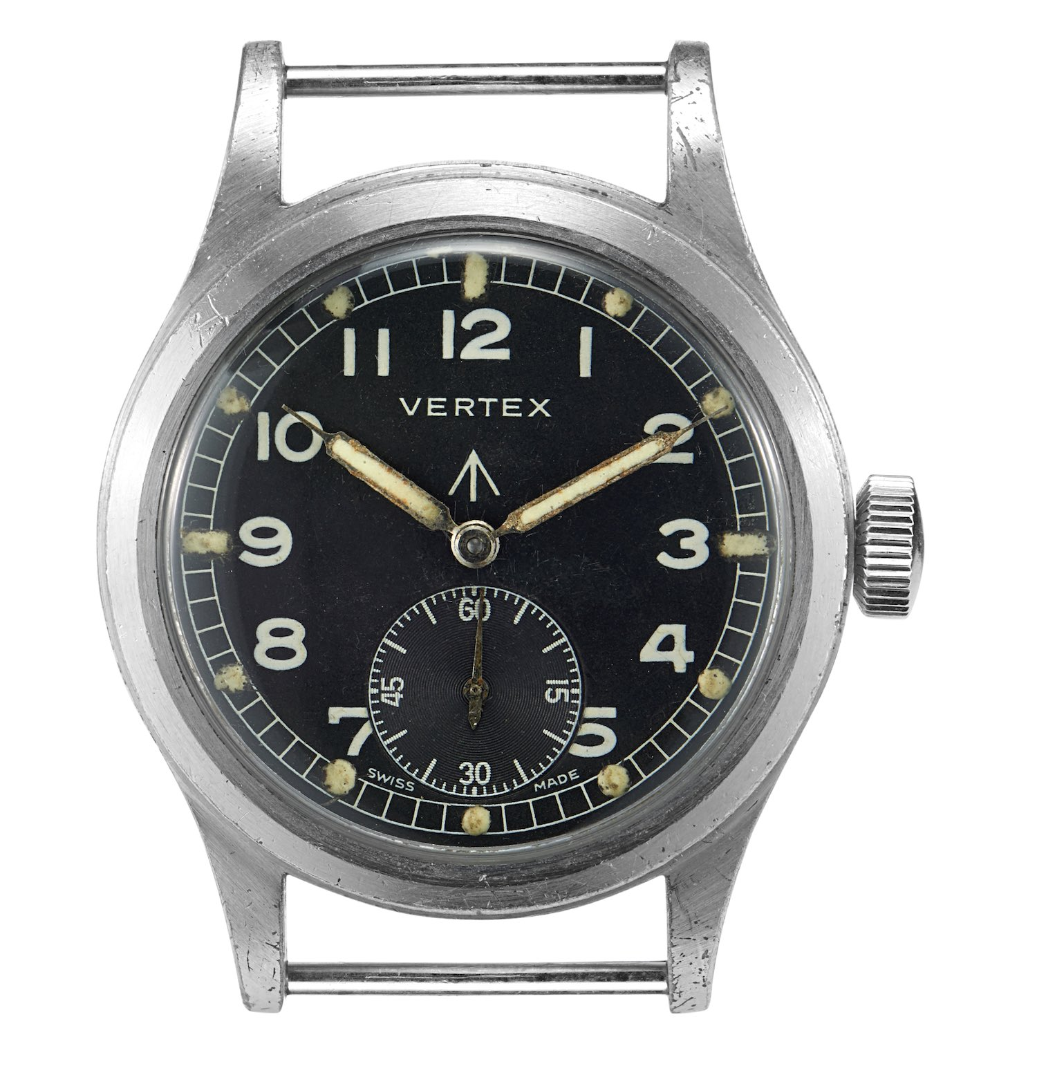Vertex Dirty Dozen military WWII watch