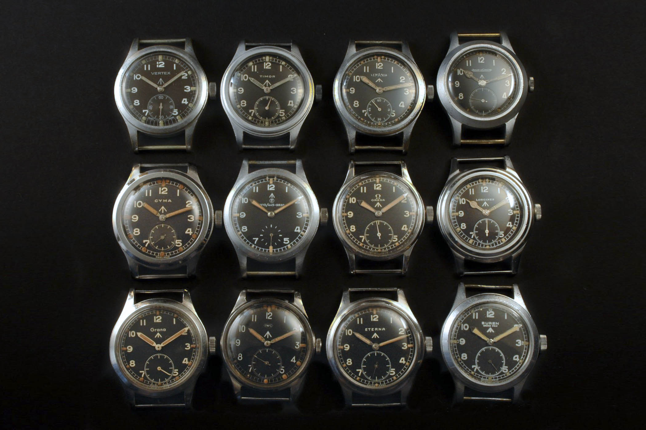 dirty dozen history military watch british MoD WWII - Vertex Watches in-depth