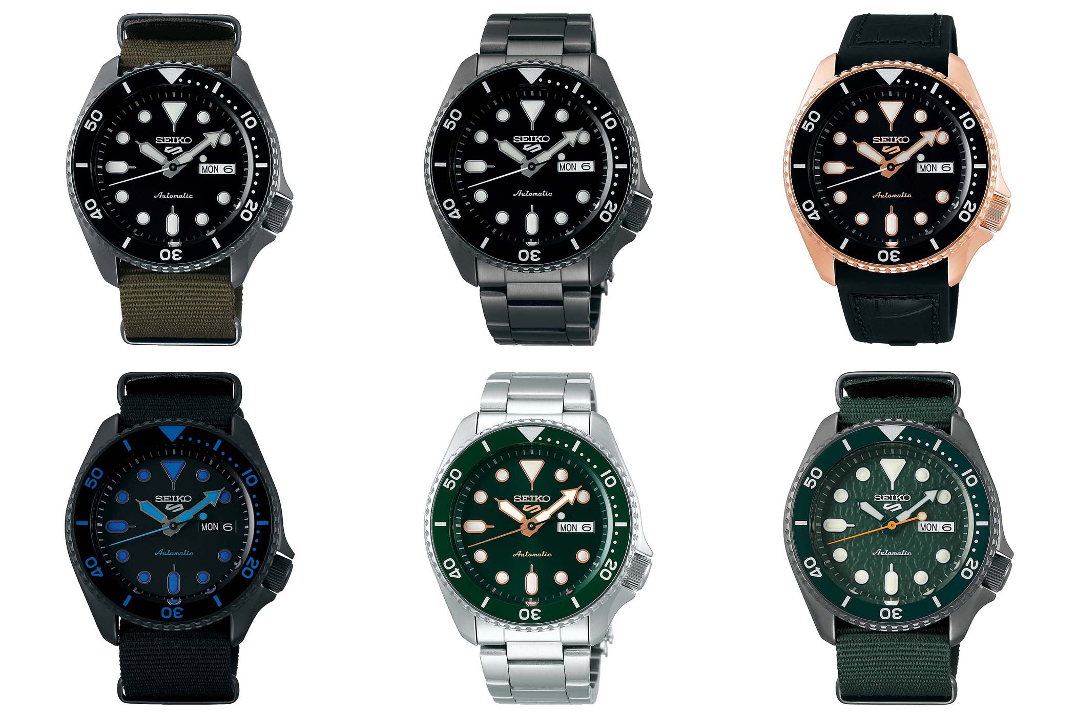 2019 seiko 5 collection