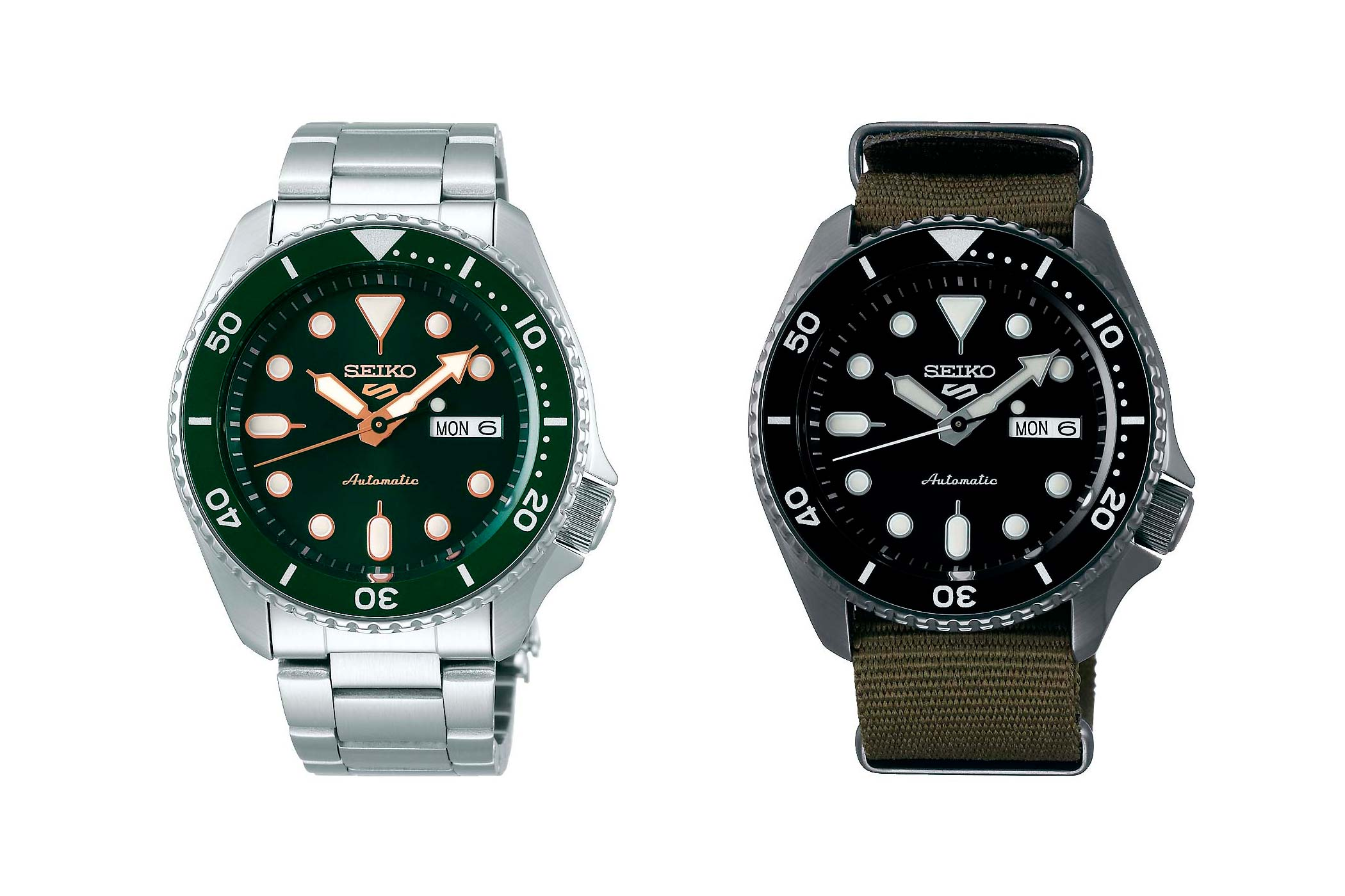 The 2019 Seiko 5 New And Revamped Monochrome Watches