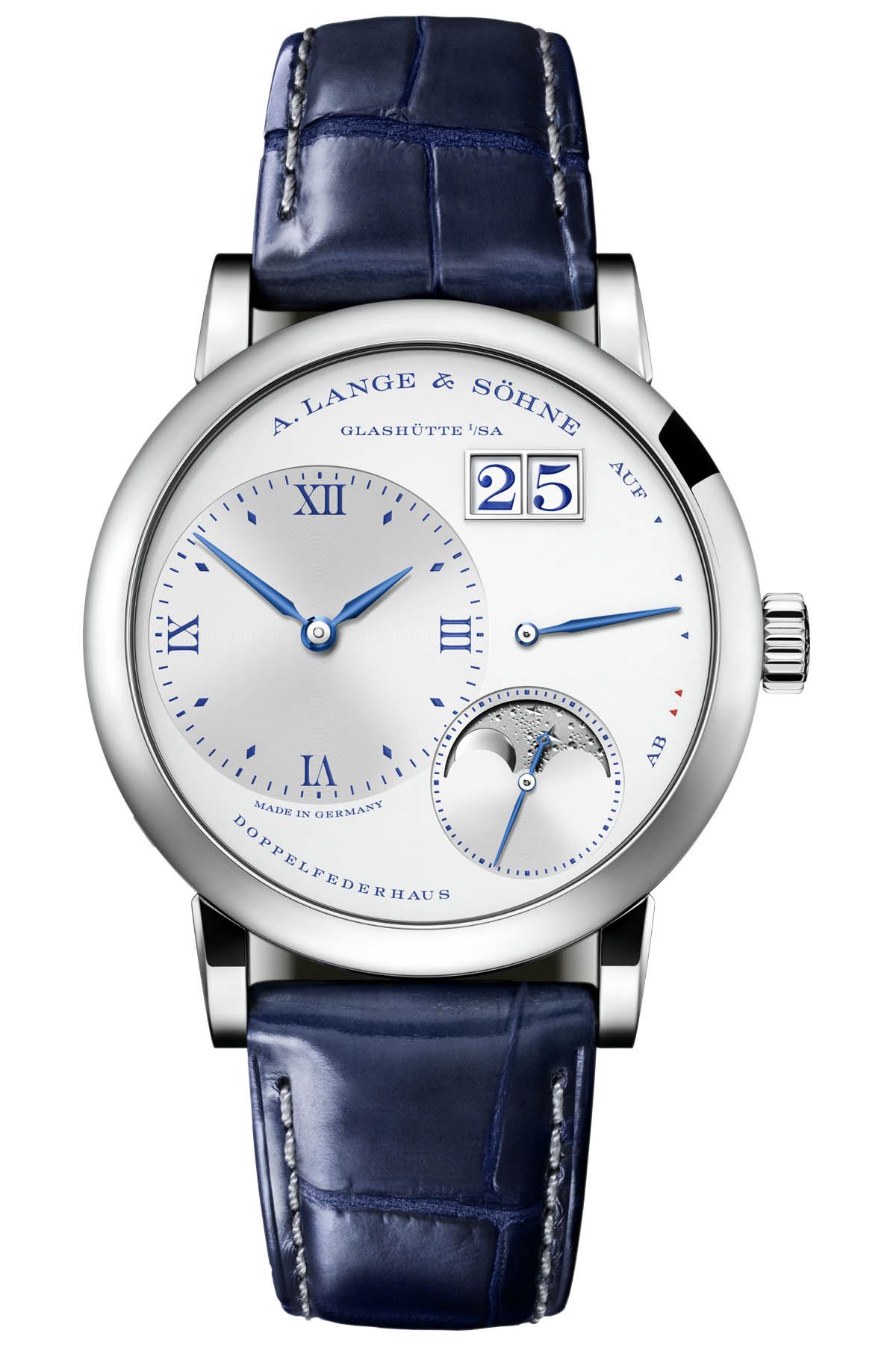 A. Lange & Söhne Little Lange 1 Moon Phase 25th Anniversary 182.066
