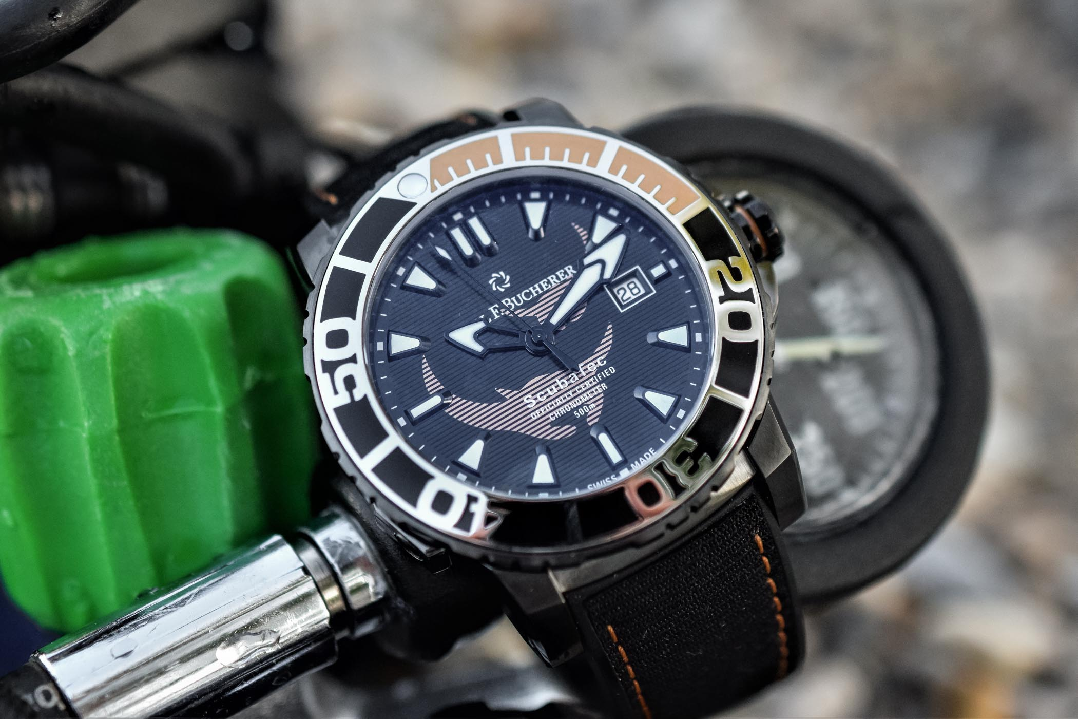 Carl F Bucherer Patravi ScubaTec Black Manta Special Edition Review