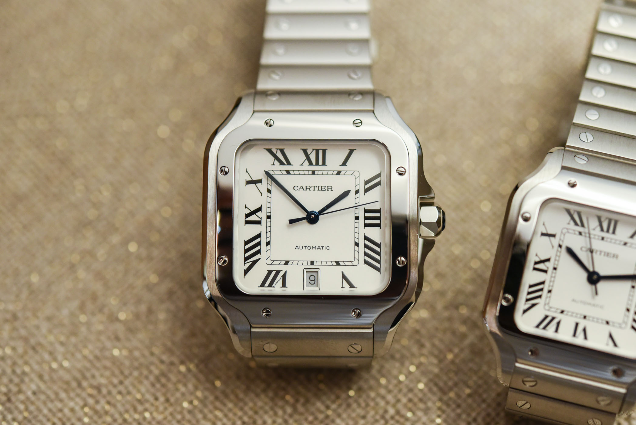 Cartier Santos Large and mid Size-5264