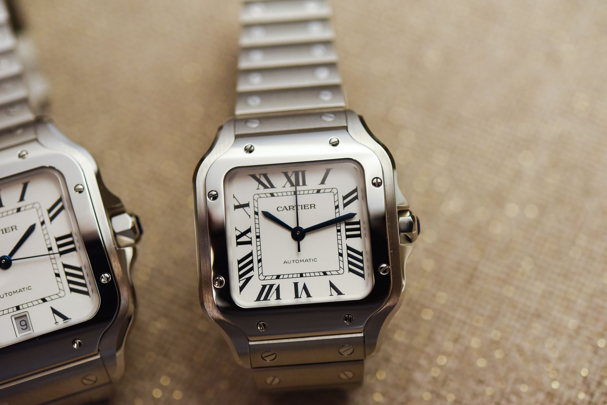 Cartier Santos Large and mid Size-5265