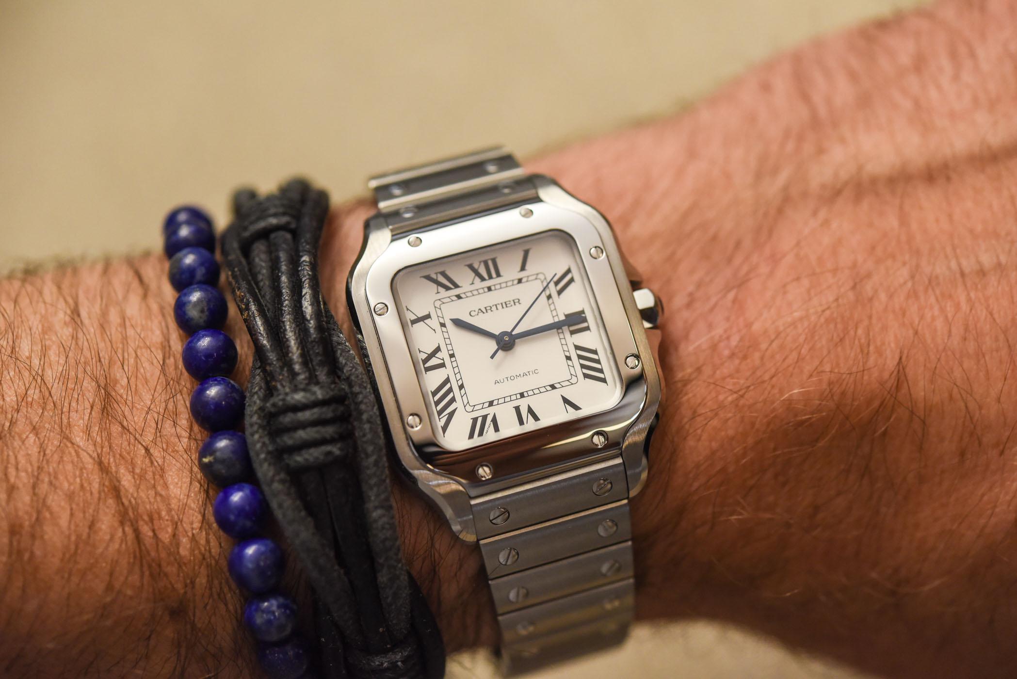 Cartier Santos Mid size