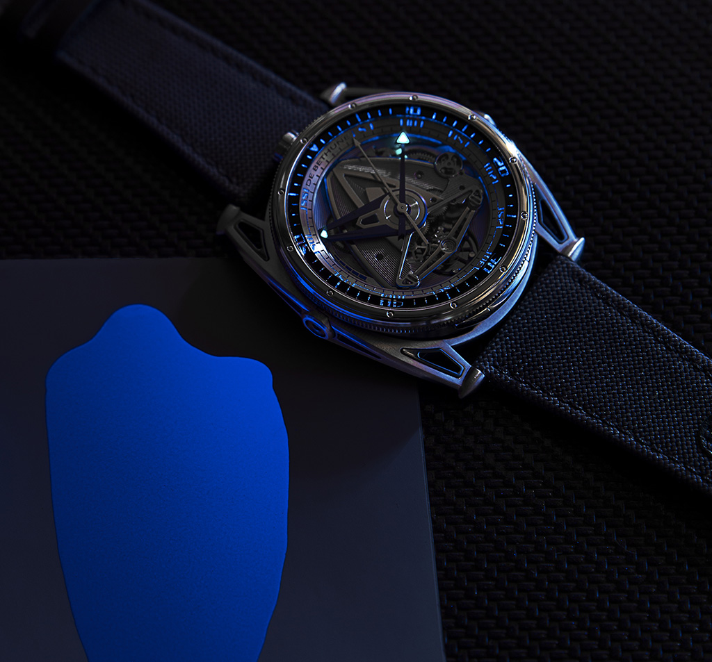 De Bethune DB28GS Grand Bleu - 10