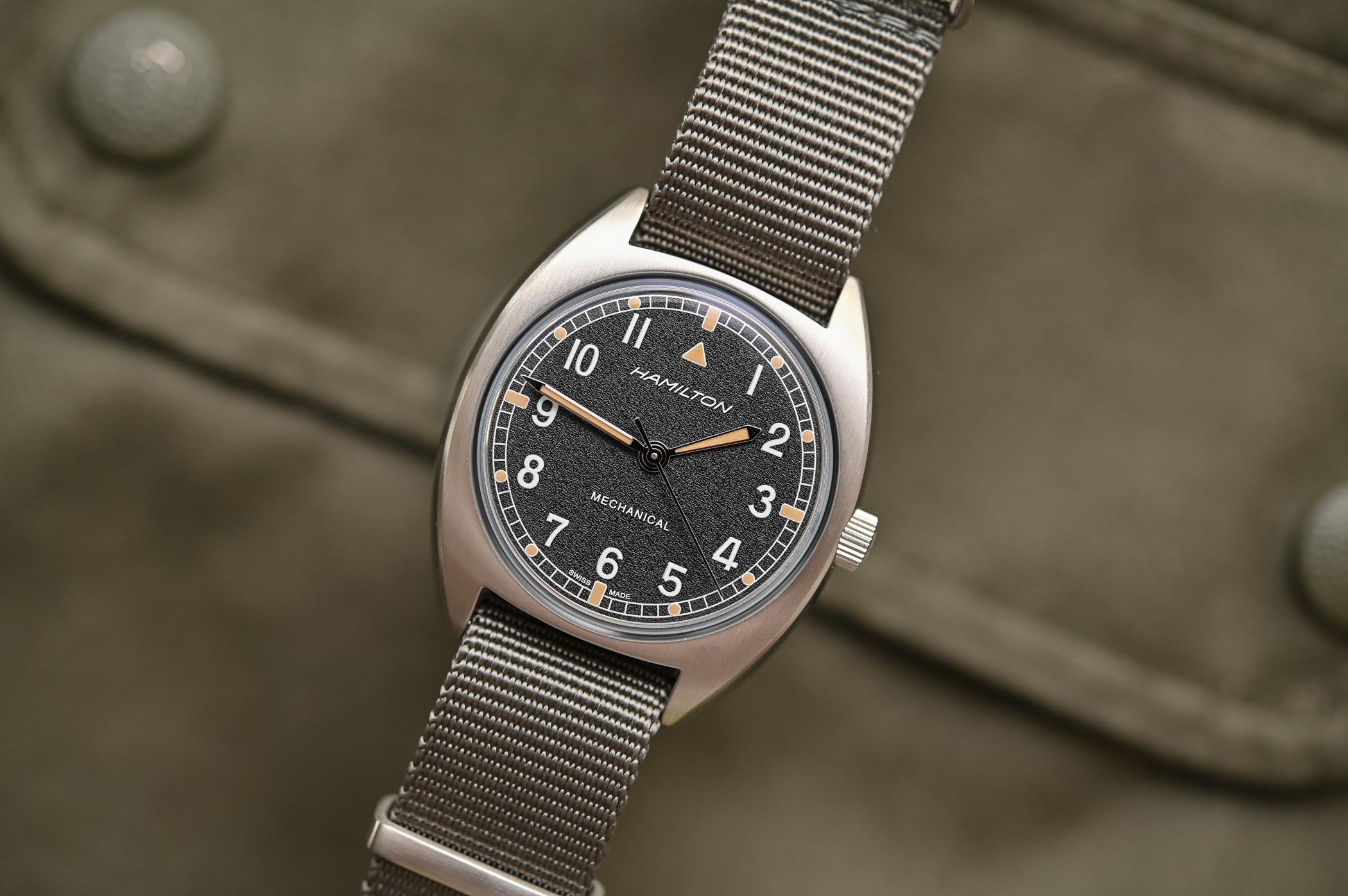 Hamilton Khaki Pilot Pioneer Mechanical - Reedition hamilton W10