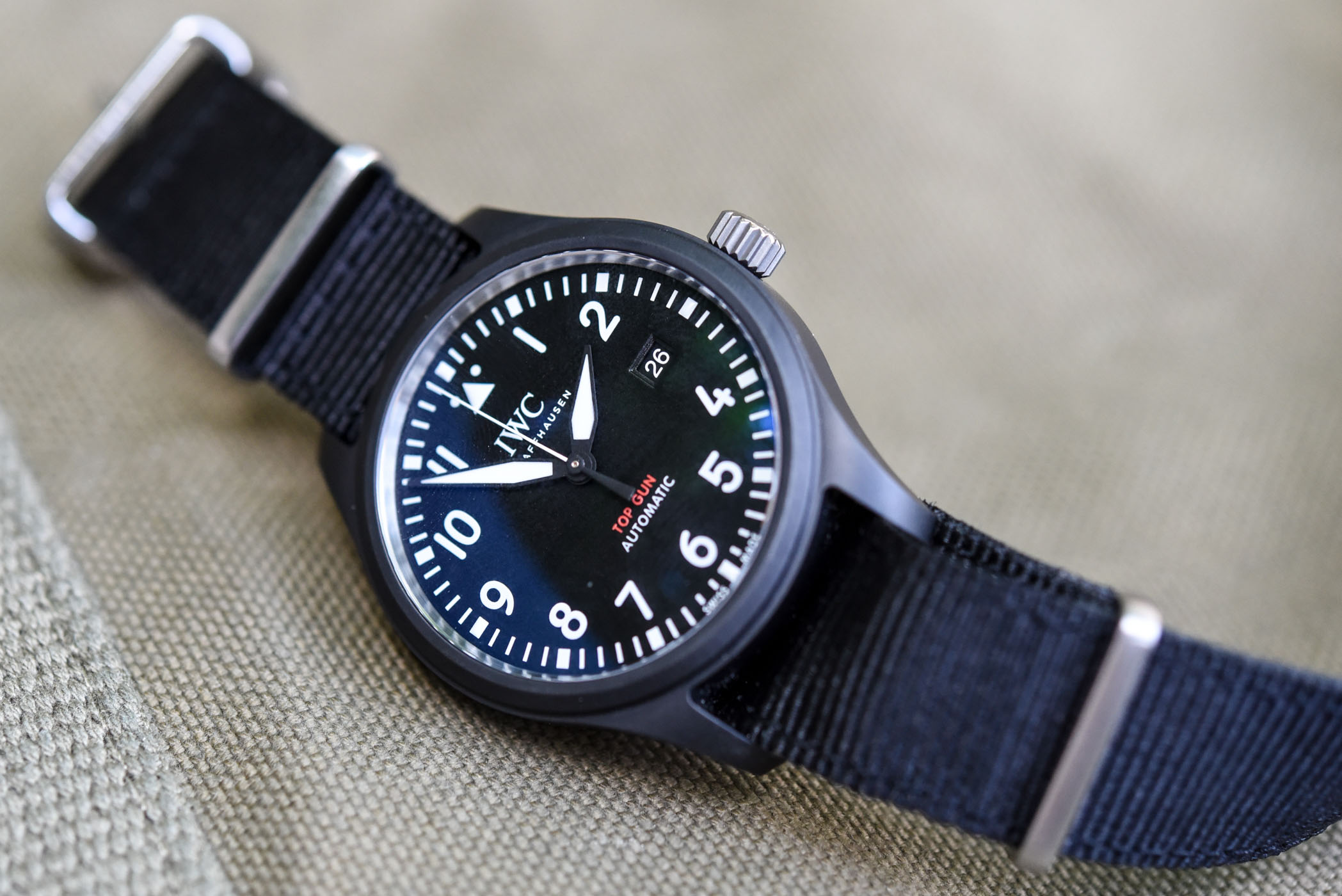 IWC Pilot's Watch Automatic Top Gun Ceramic IW326901