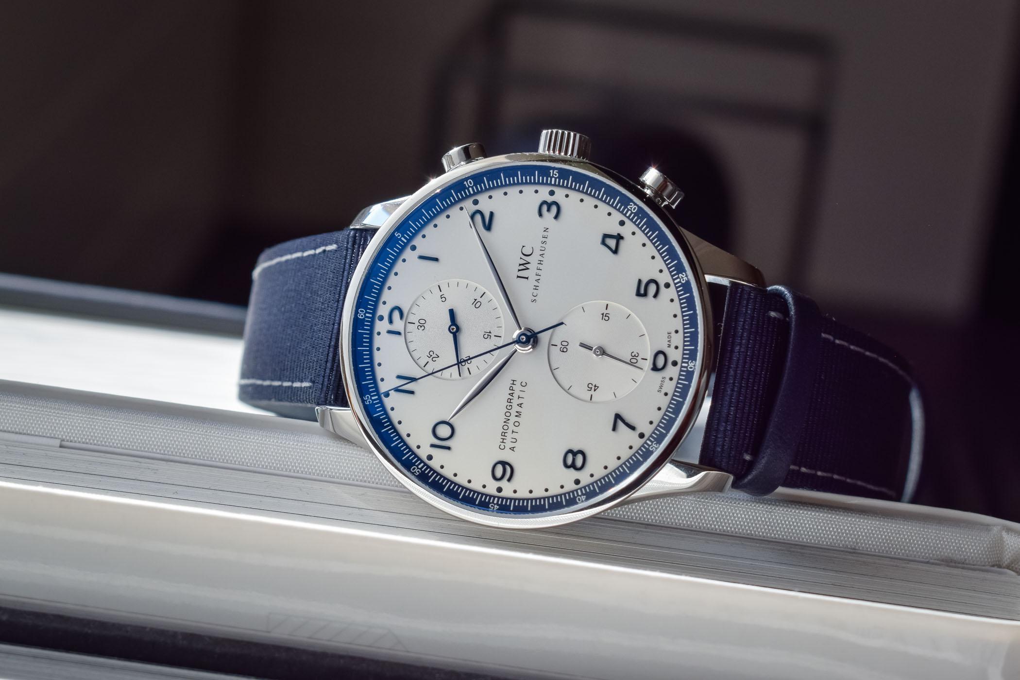 IWC Schaffhausen Portugieser Chronograph Bucherer BLUE - IW371492