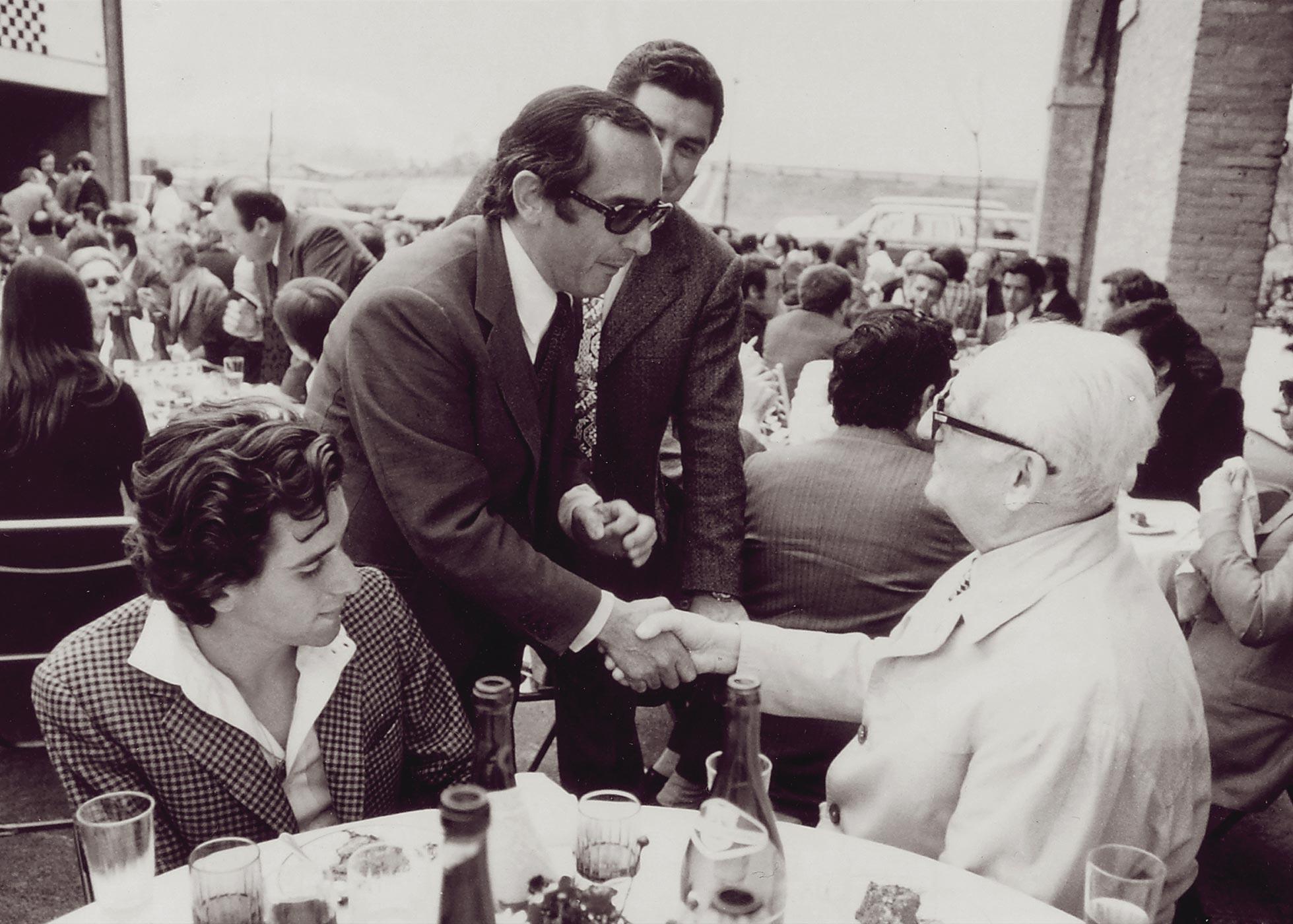 Jack Heuer + Enzo Ferrari