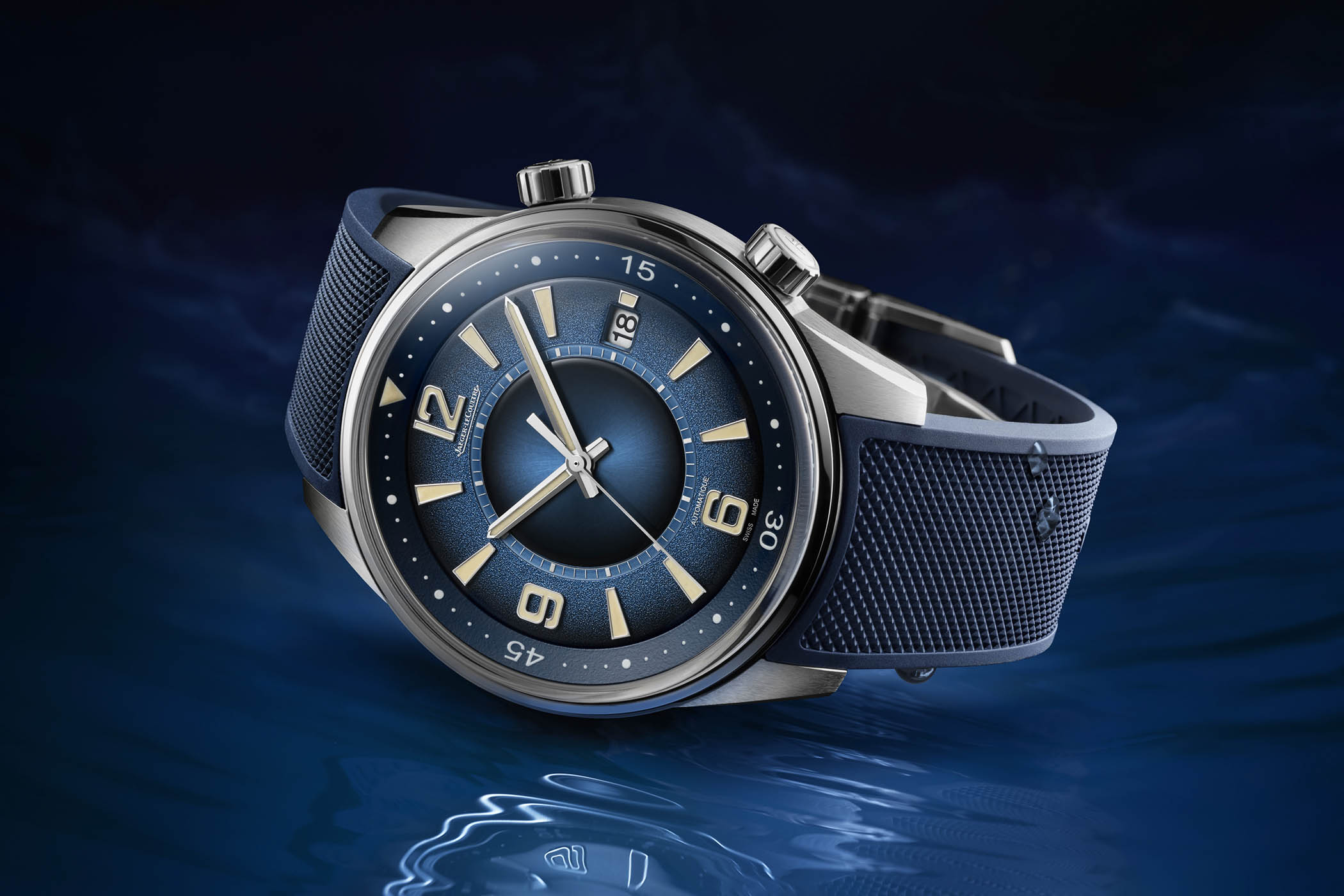 Jaeger-LeCoultre Polaris Date Limited Edition Gradient Blue - Q9068681