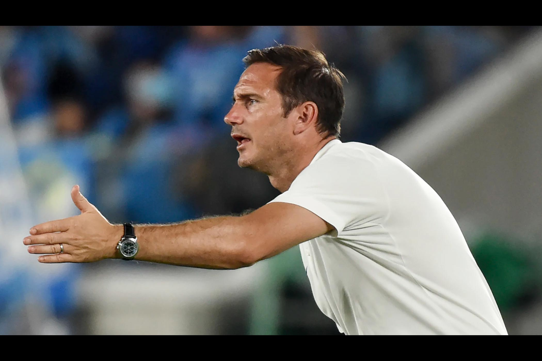 Chelsea FC Manager Frank Lampard, his Patek Philippe watches