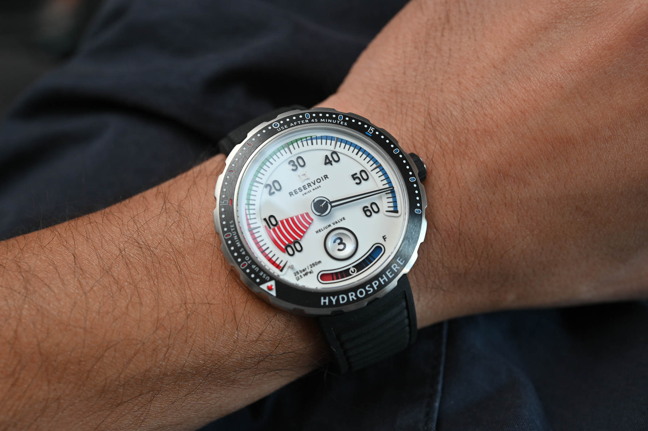 Reservoir Hydrosphere Air Gauge Dive Watch