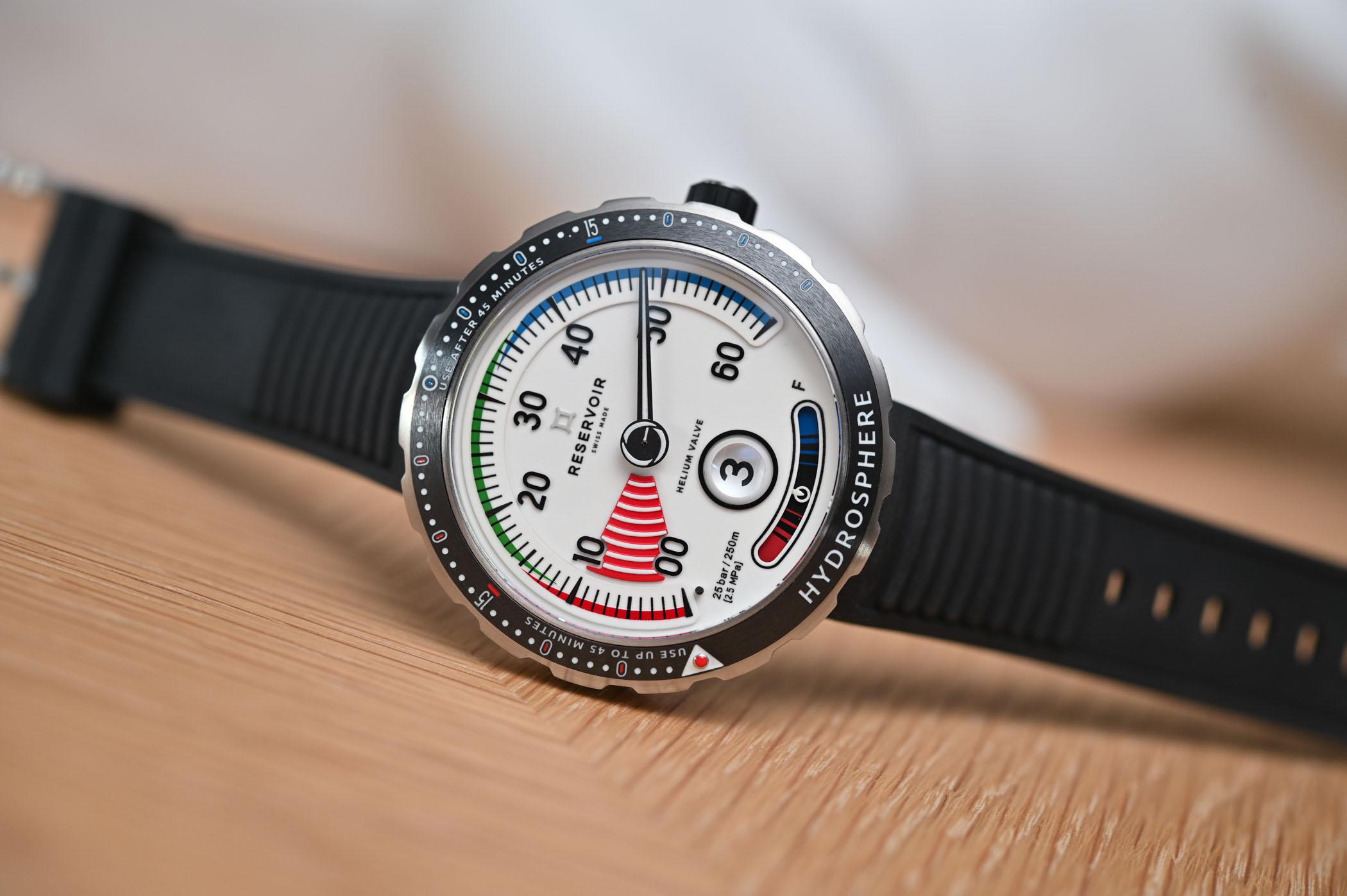 Reservoir Hydrosphere Air Gauge Dive Watch