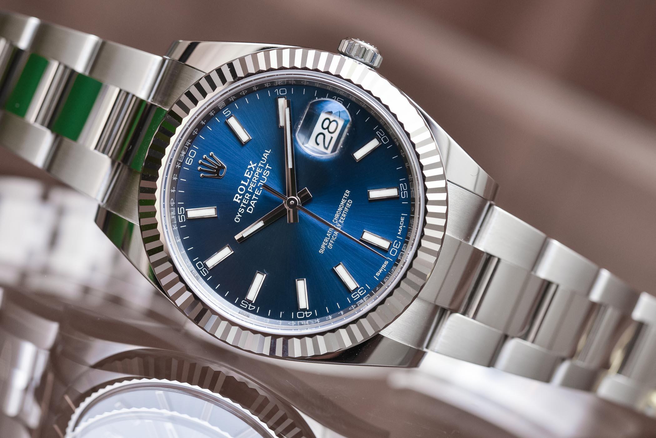Rolex Datejust 41 ref 126334 Steel