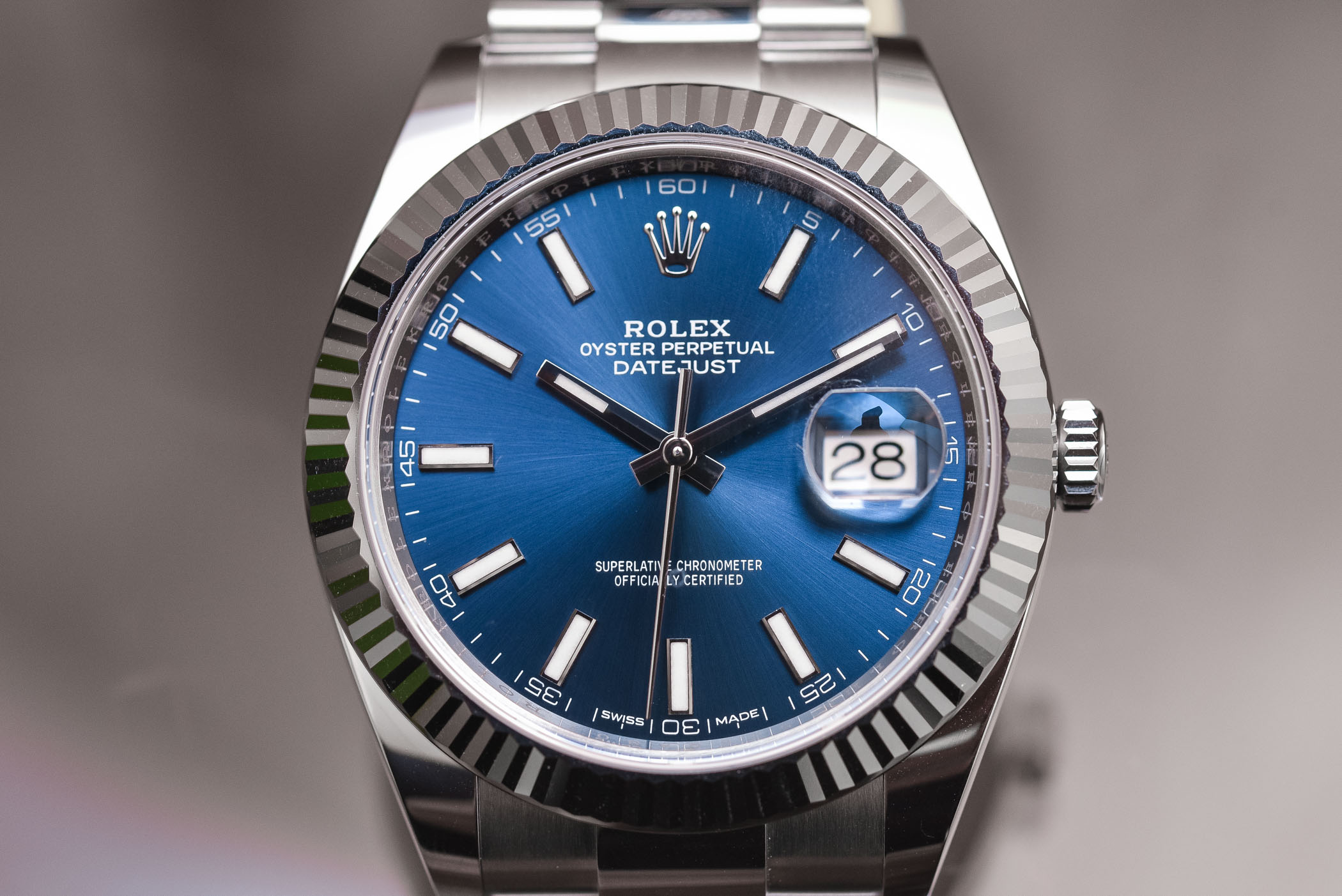 Rolex Datejust 41 ref 126334 Steel