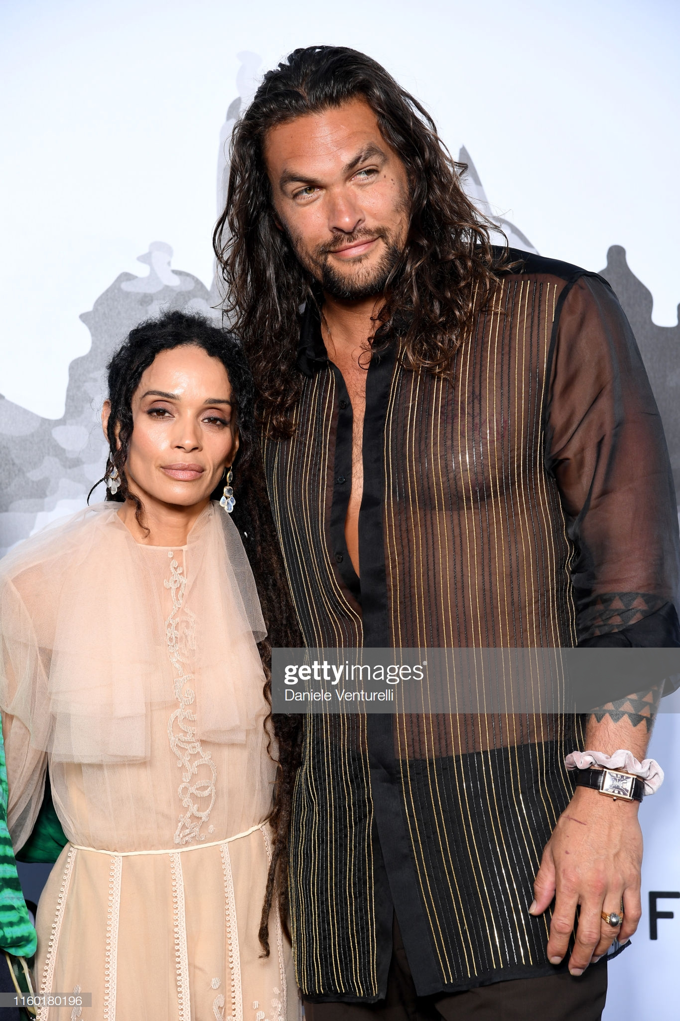 Spotted Jason Momoa Star of Aquaman Wearing Cartier Tank Louis Cartier XL