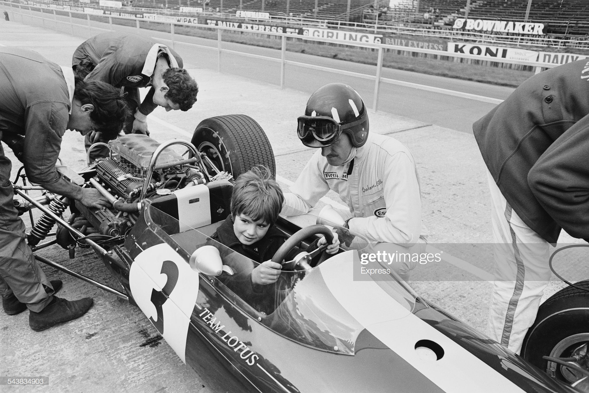 Graham Hill and Damon Hill 1967