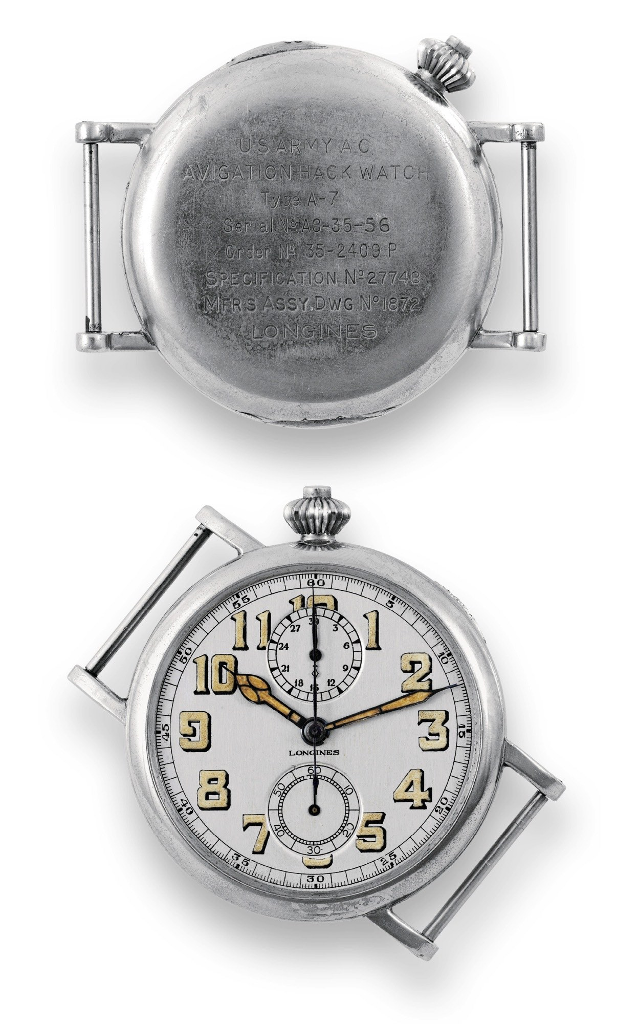 Longines Avigation Type A-7 1935 – An Eccentric Pilot's Chronograph from the Past