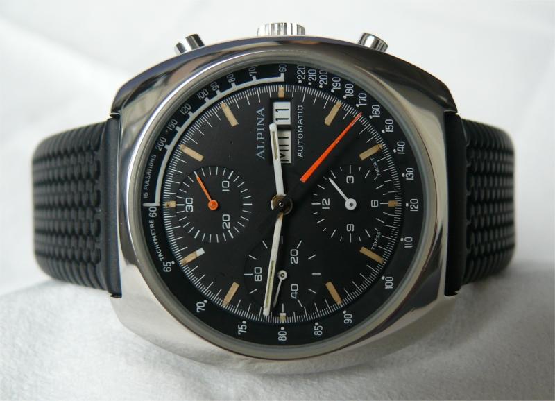 Alpina Vintage 1970s chronograph - 2