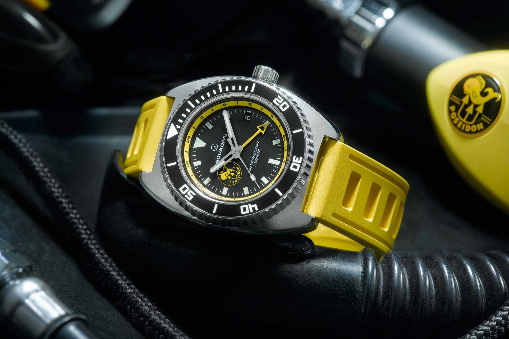 Aquadive Bathyscaphe 100 GMT Poseidon Edition