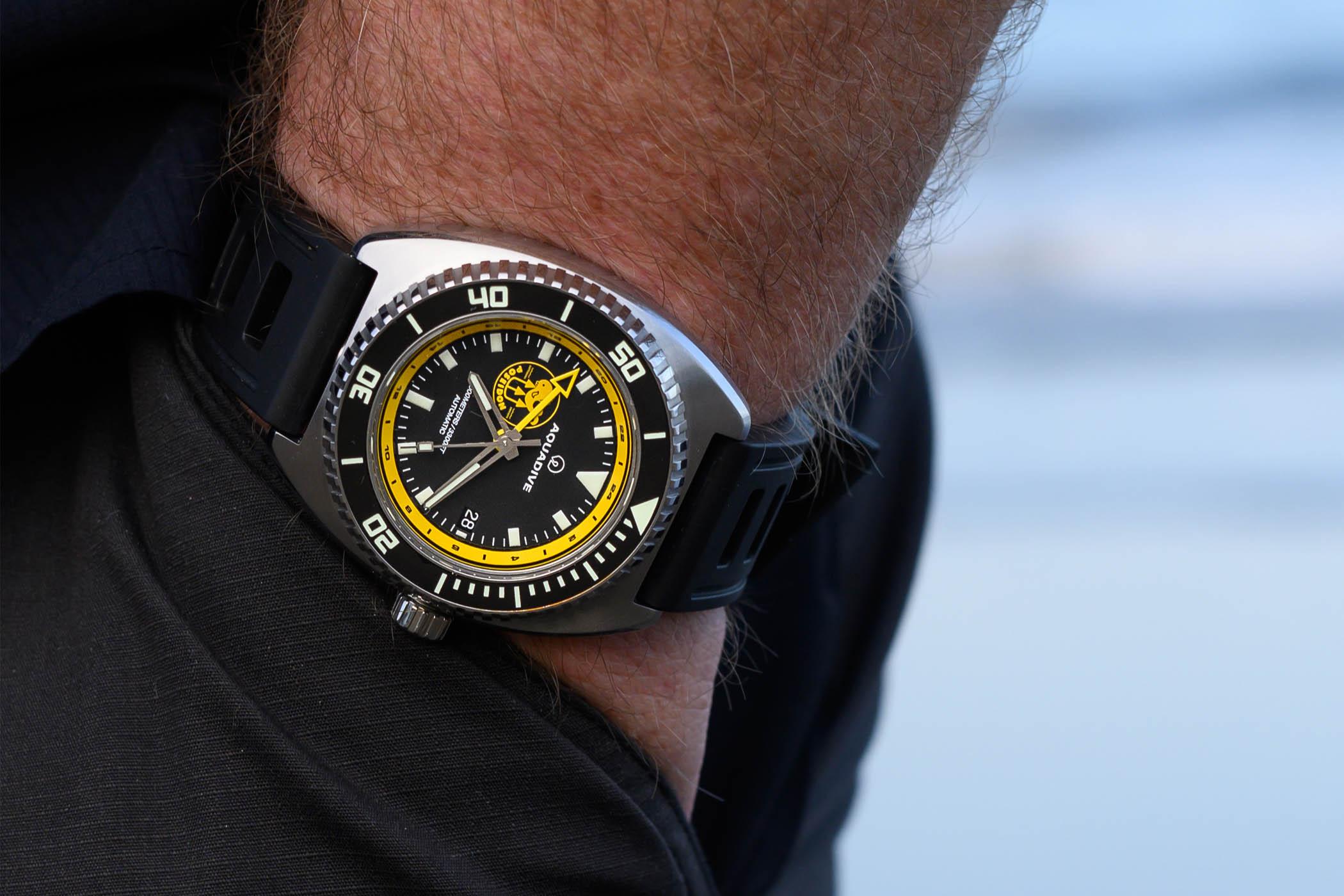 Aquadive Bathyscaphe 100 GMT Poseidon Edition